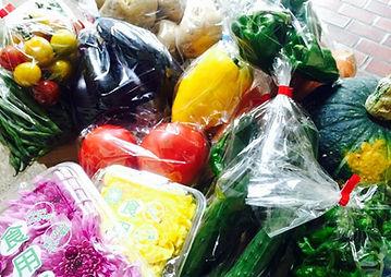 地元の農家さんが育てた野菜