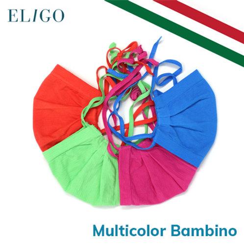 Mascherina Riutilizzabile Filtrante (Multicolor Bambino)