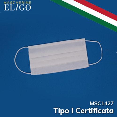 Mascherina Lavabile Certificata Tipo I