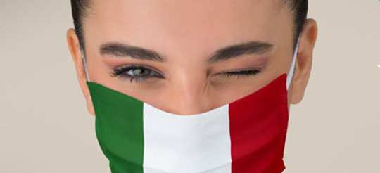 Mascherina Lavabile | Vincente Tricolore