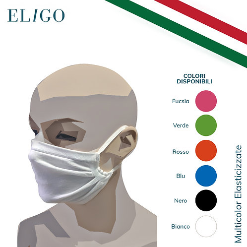 Mascherina Riutilizzabile Filtrante (Multicolor)
