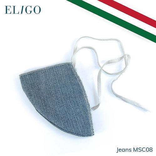 Mascherina Filtrante Lavabile (Jeans)
