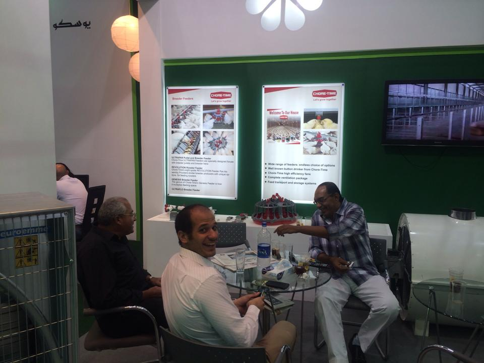 USCO booth in Agrena Exhibition 2014