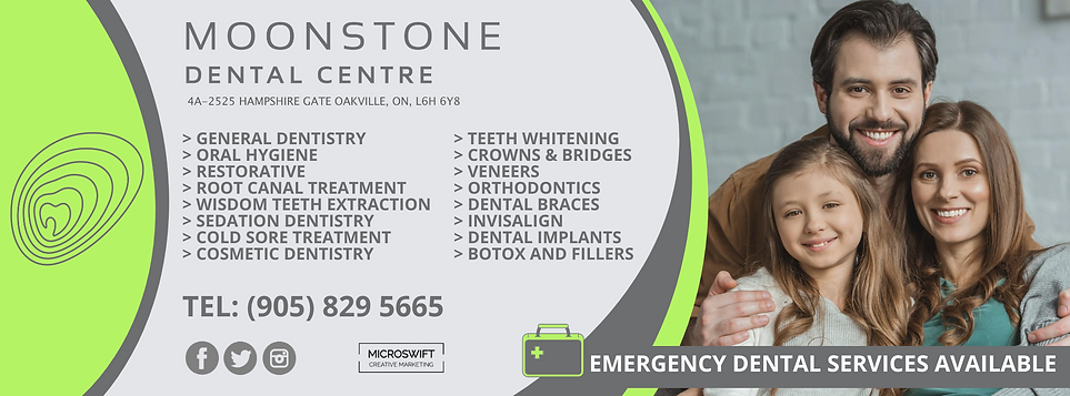 Moonstone Dental | Dentist | Dental Clinic | Oakville | Mississauga