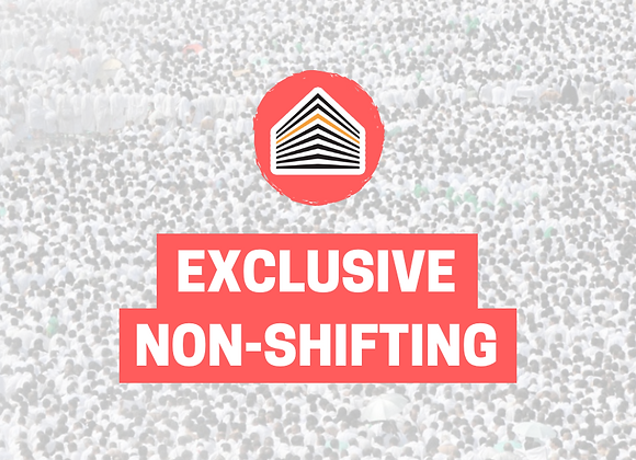Exclusive Non-Shifting Hajj