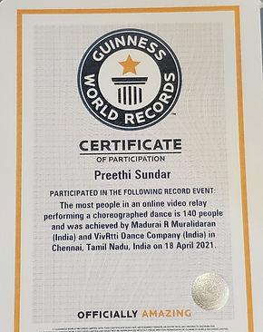 Preethi - Guinness Certificate.jpg