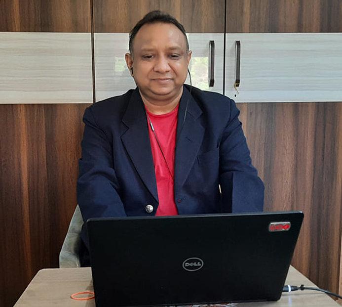 Navin Agrawal attending Karl Mayer Webin