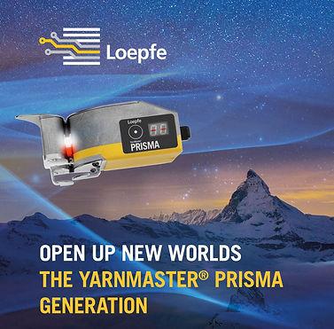 ITMA Asia 2021 - Loepfe PRISMA Generatio