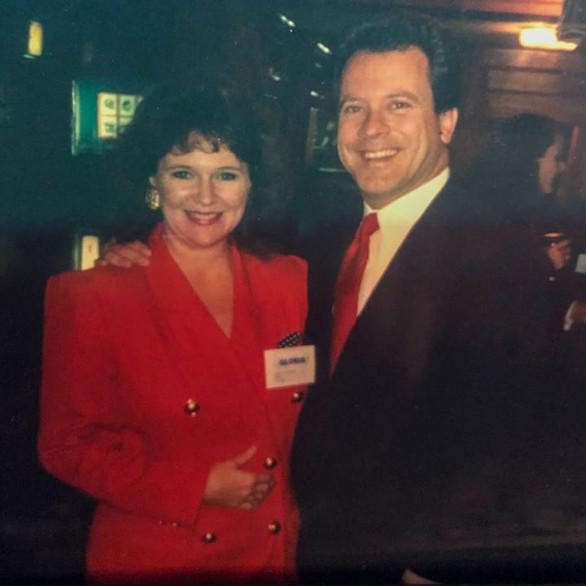 Gloria Freeman with then-S.C. Gov. David Beasley.