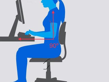 📎📌Consigli per il lavoro in ufficio: altezza della sedia📊🔍
