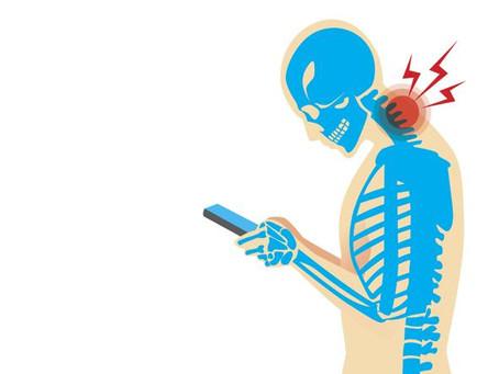 """""""Il collo da tablet"""": un'epidemia"""