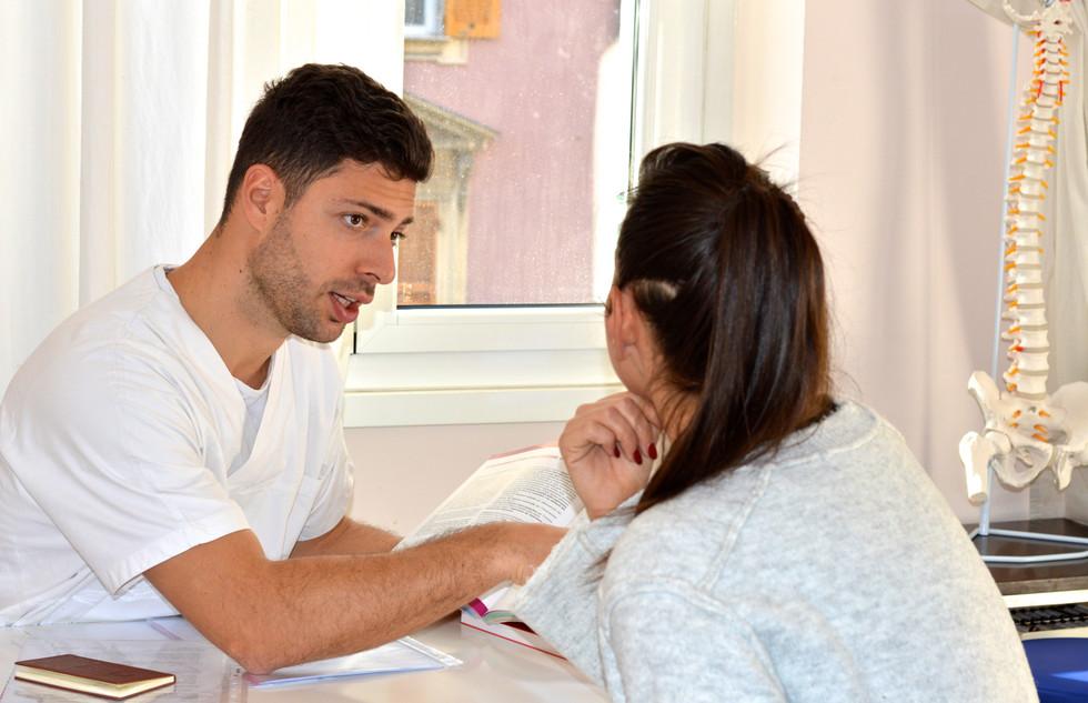 Colloquio con il paziente