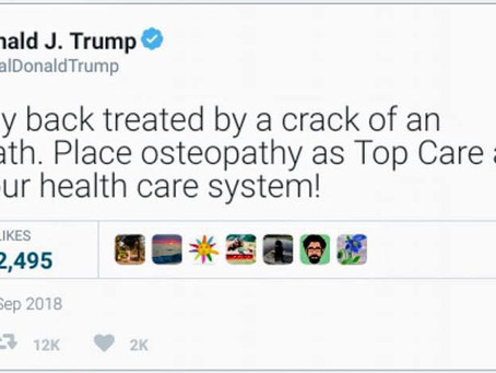 Presidente USA dall'Osteopata