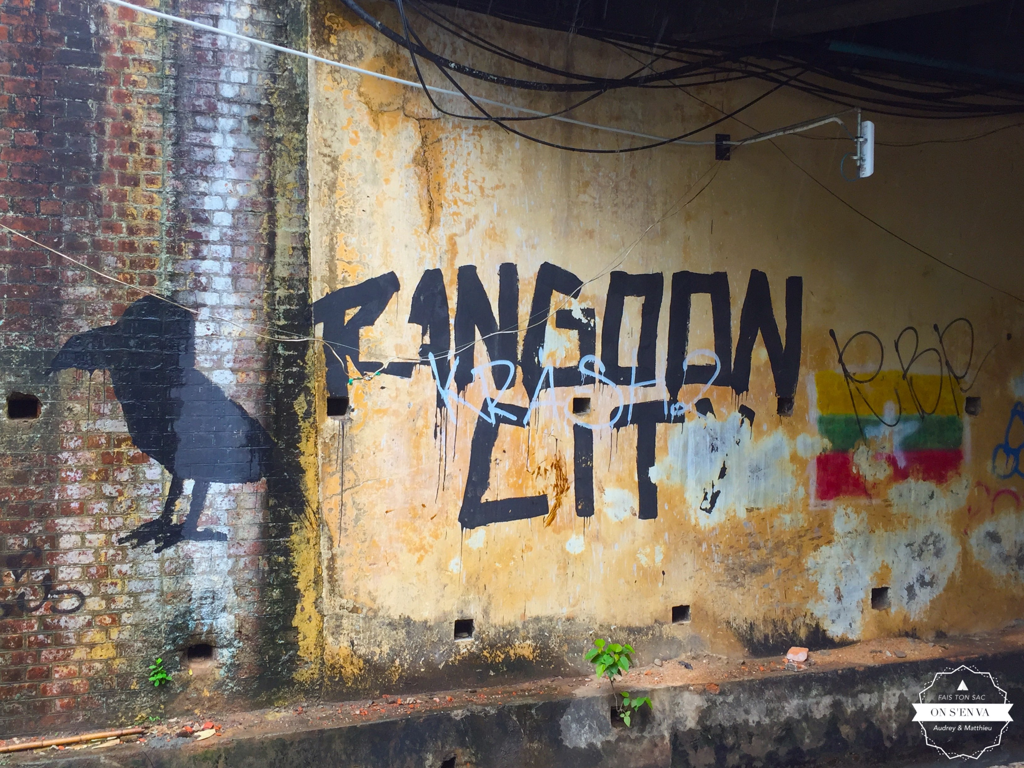 Bienvenue à Yangon!