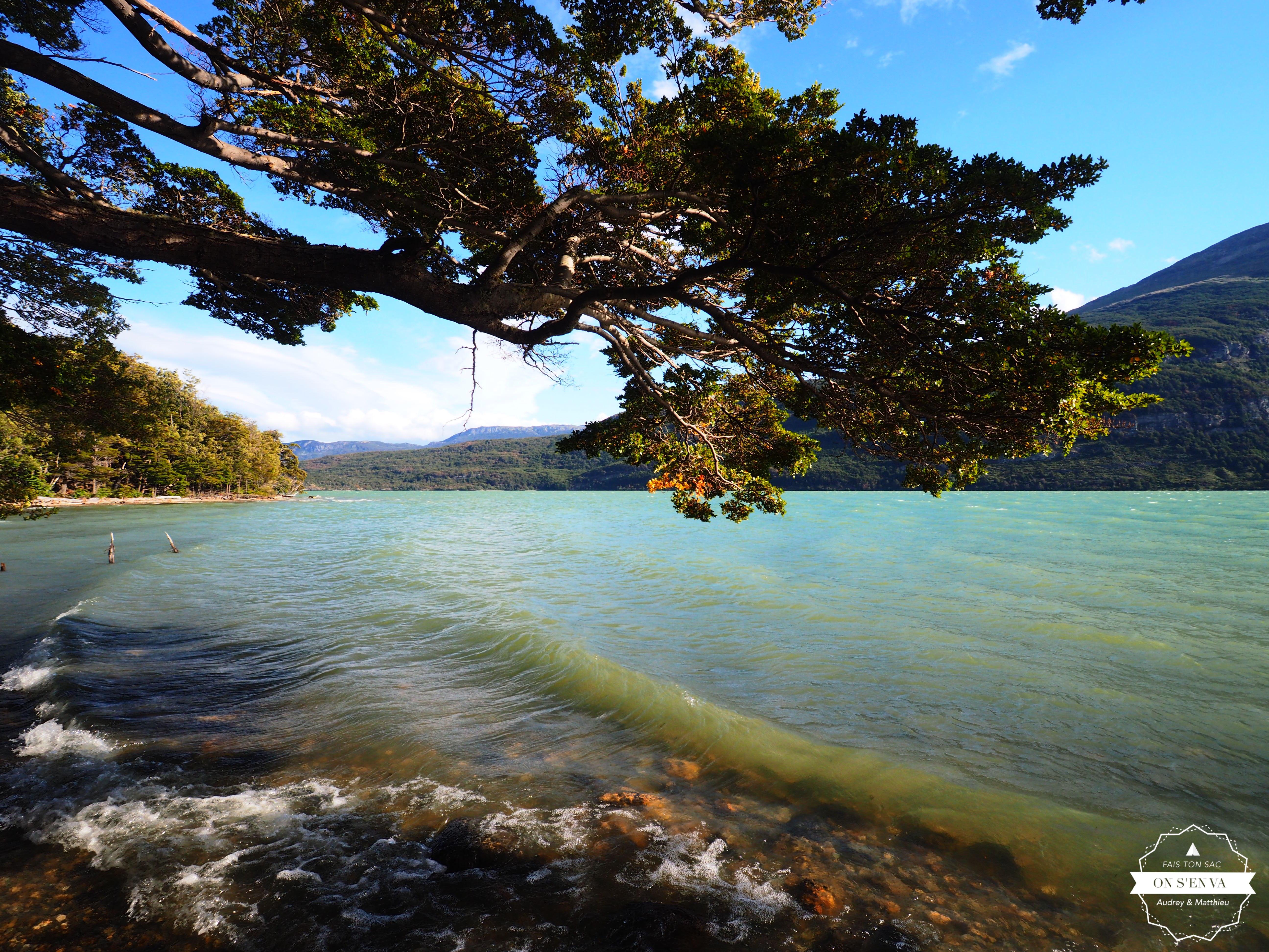 Retour sur les bords du Lago Roca