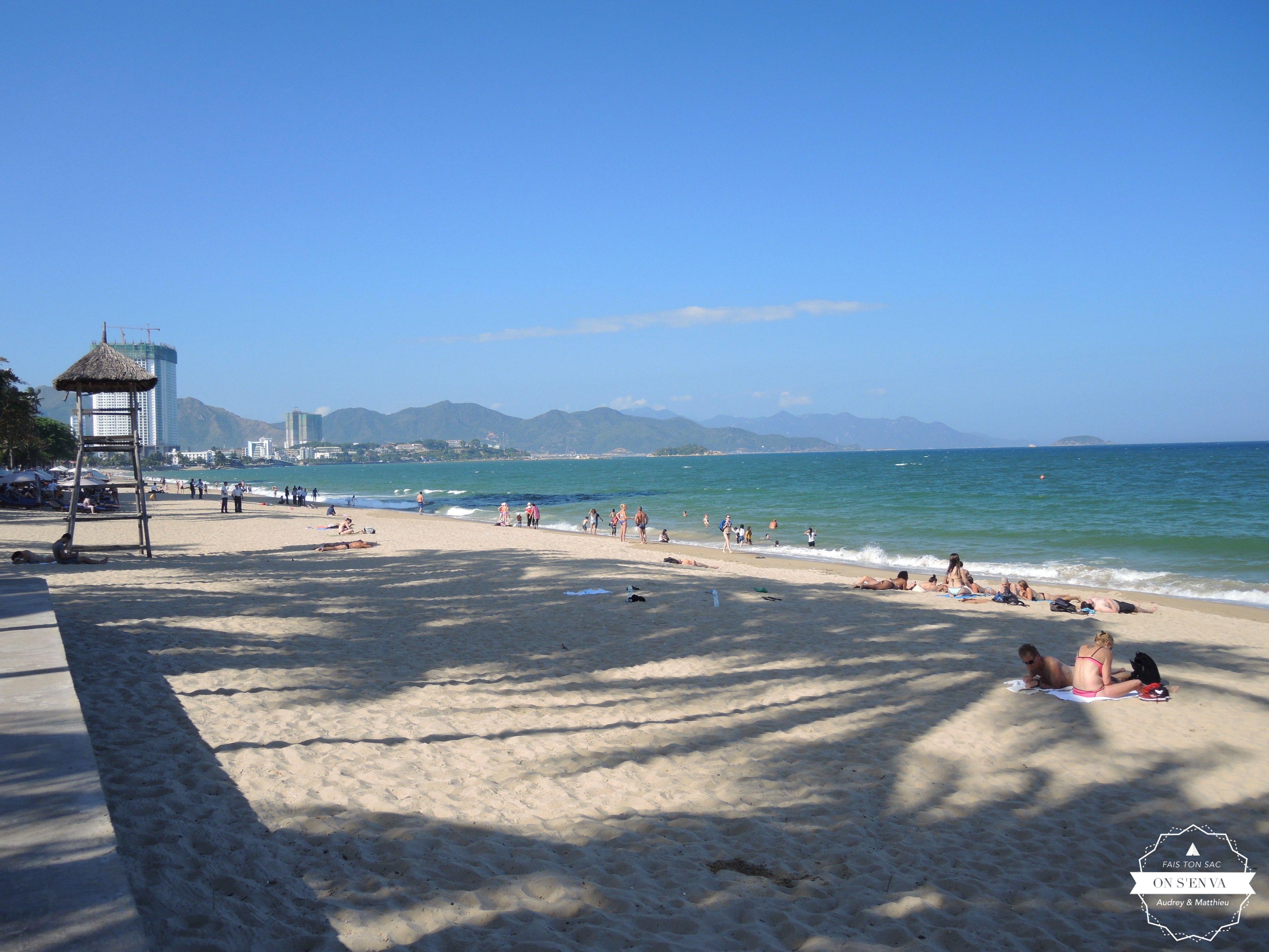 La plage de Nha Trang