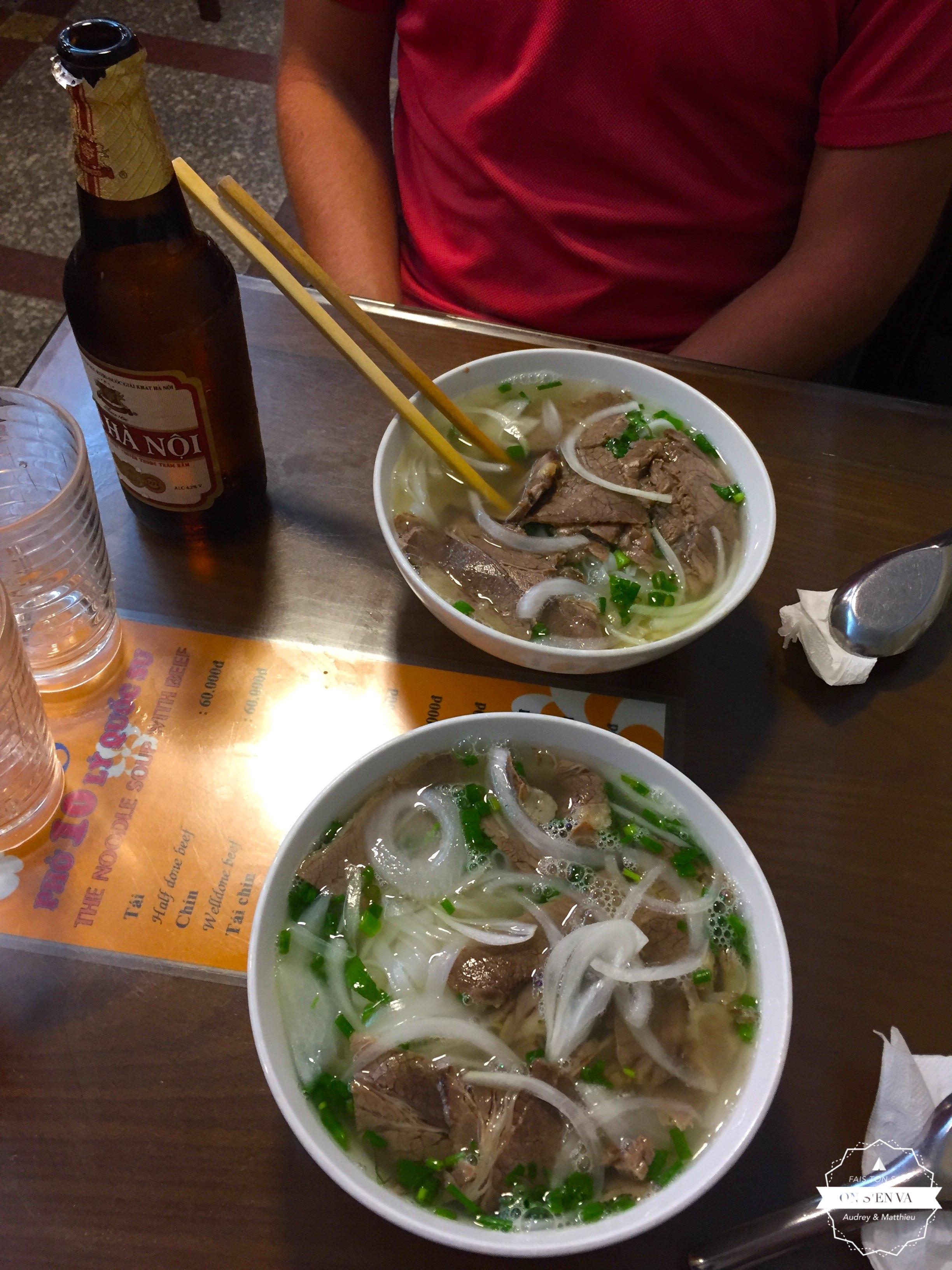 Le fameux Pho vietnamien