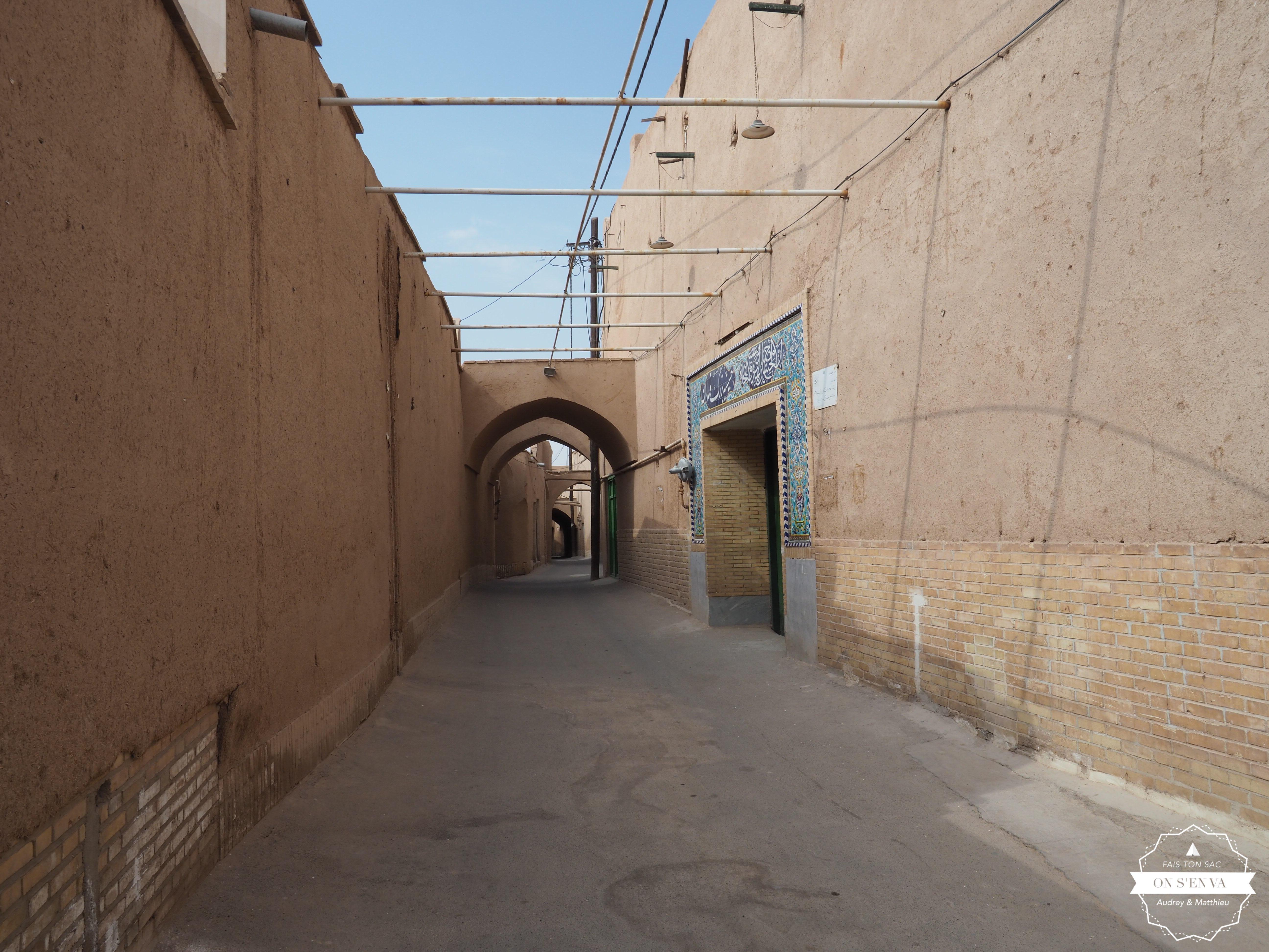 Dans les rues de Yazd