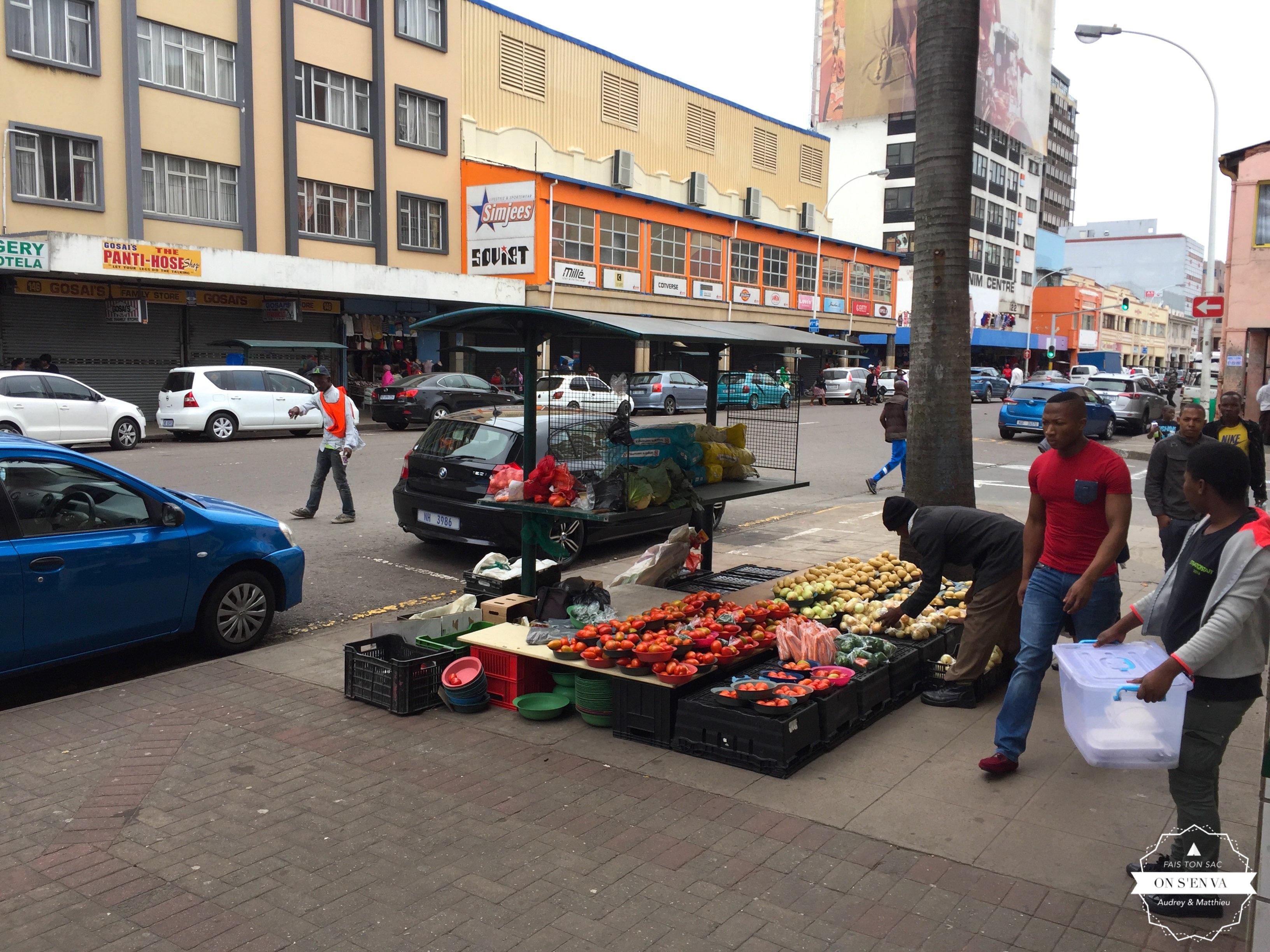 Durban, un dimanche matin