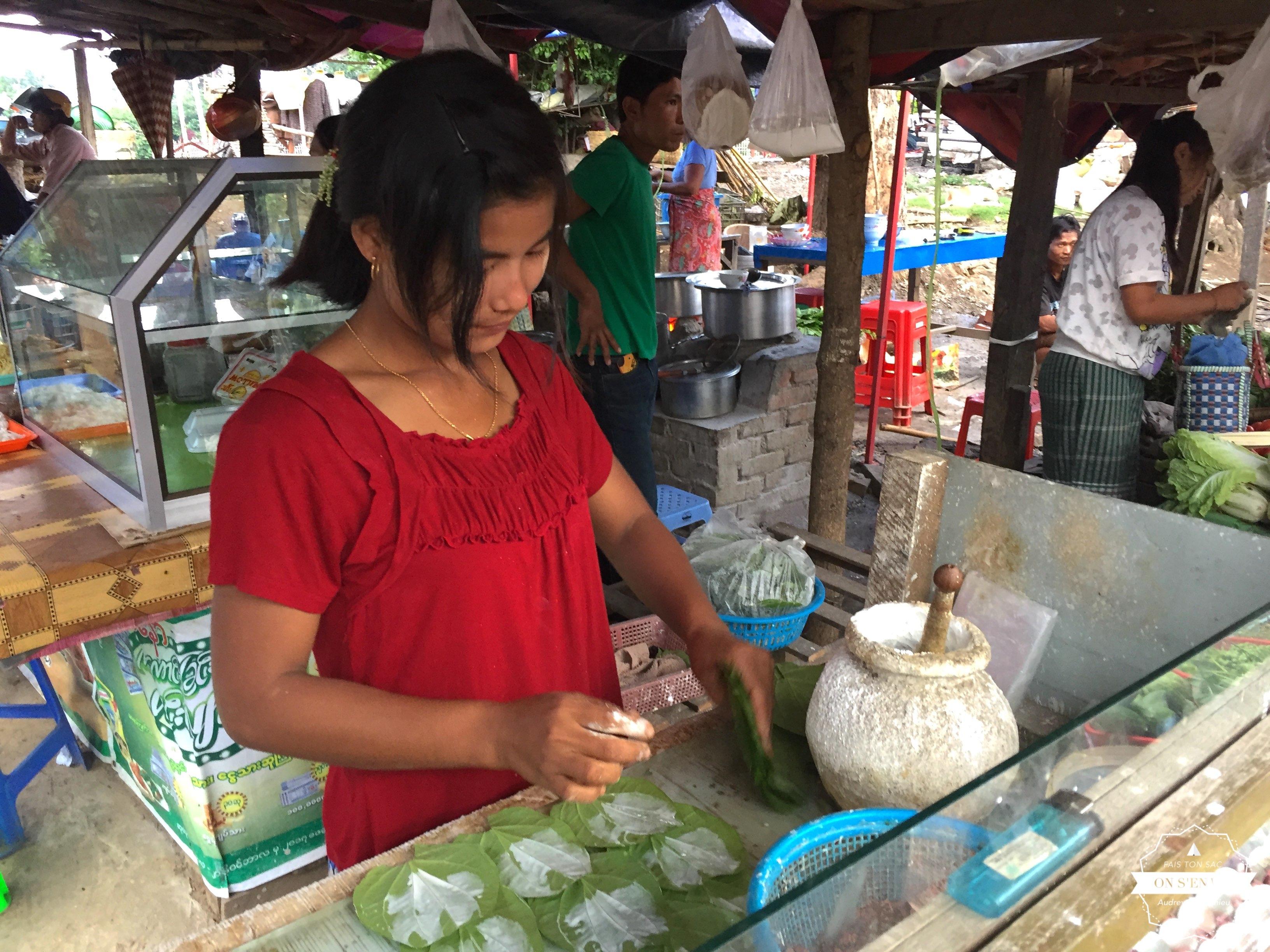 La fabrication du betel