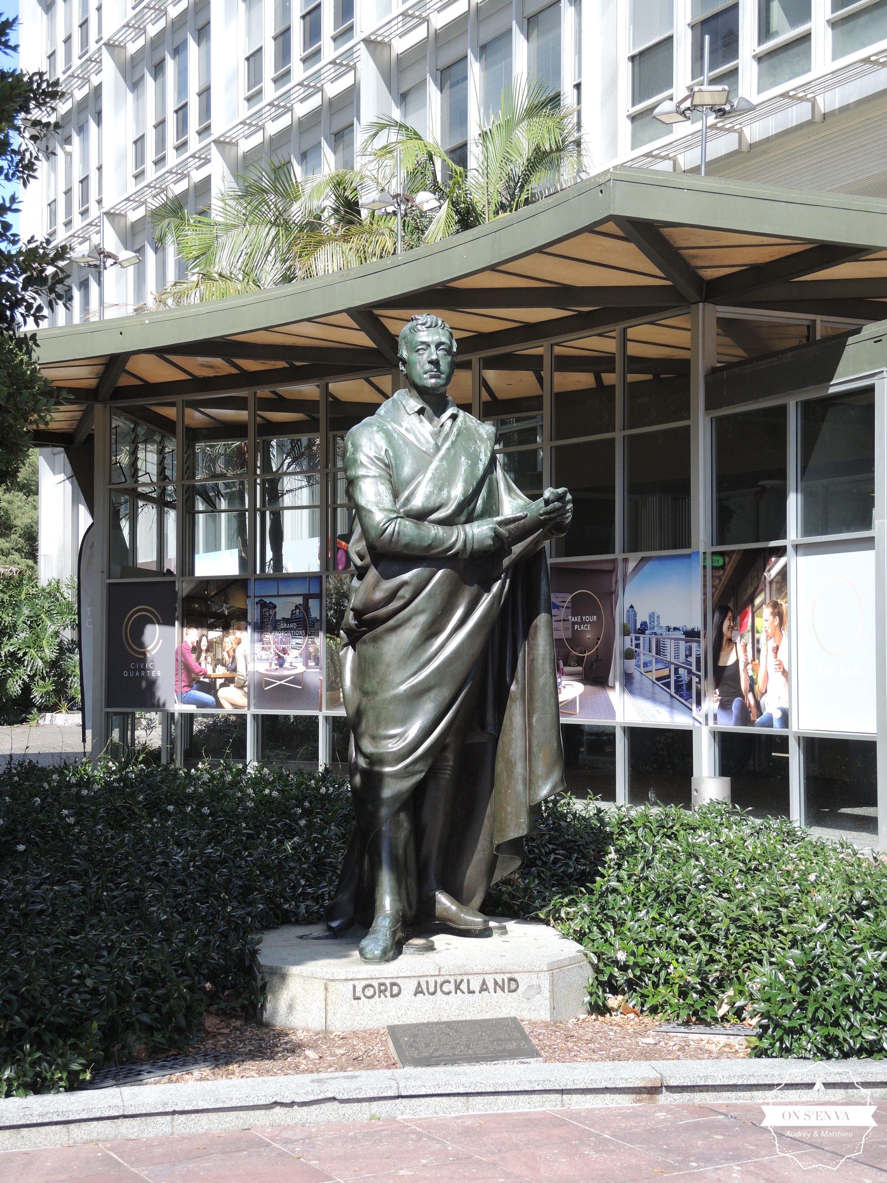 Lord Auckland gouverneur de la ville