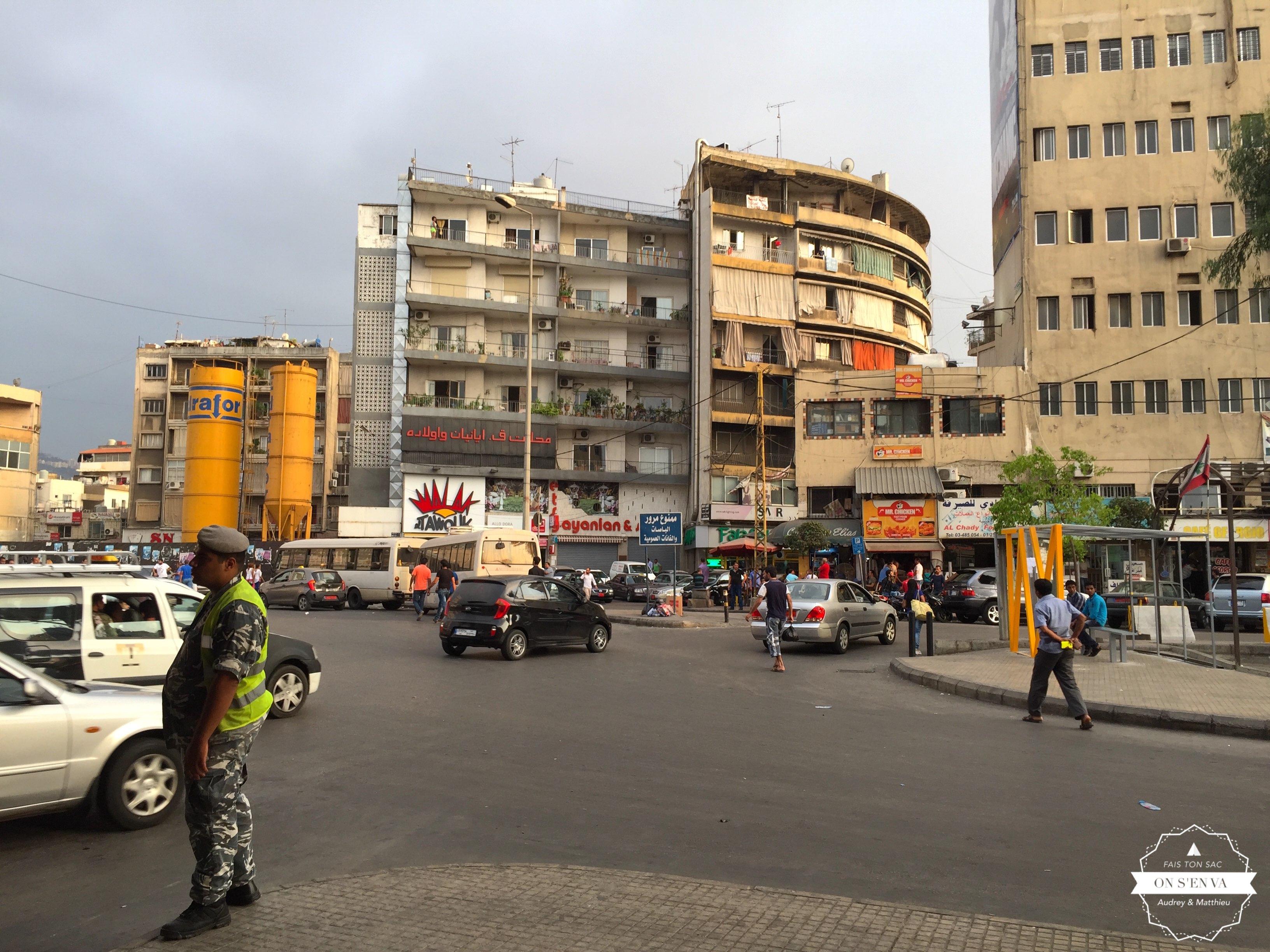 Dawra, la gare routière de Beyrouth