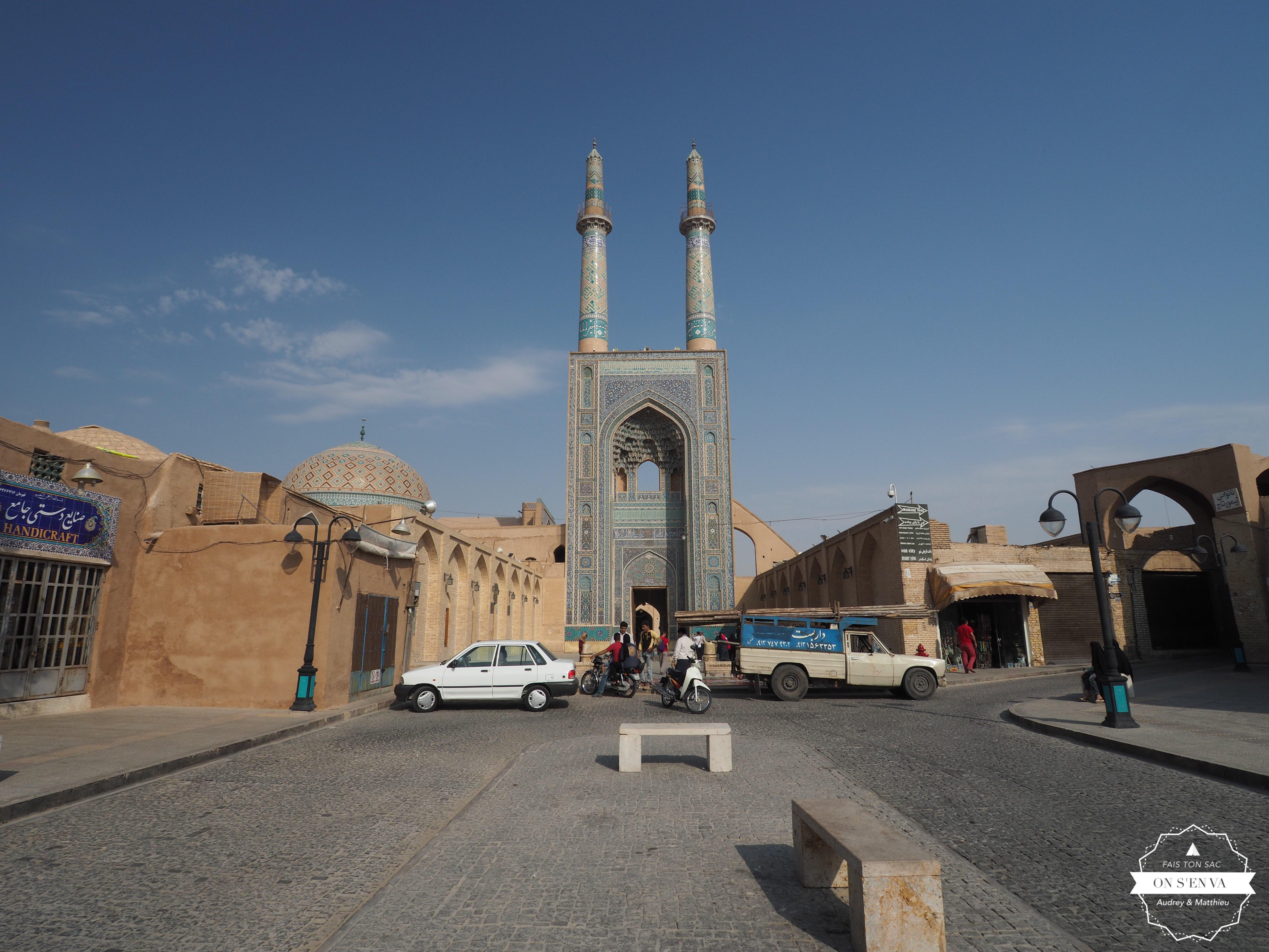 La mosquée au petit matin