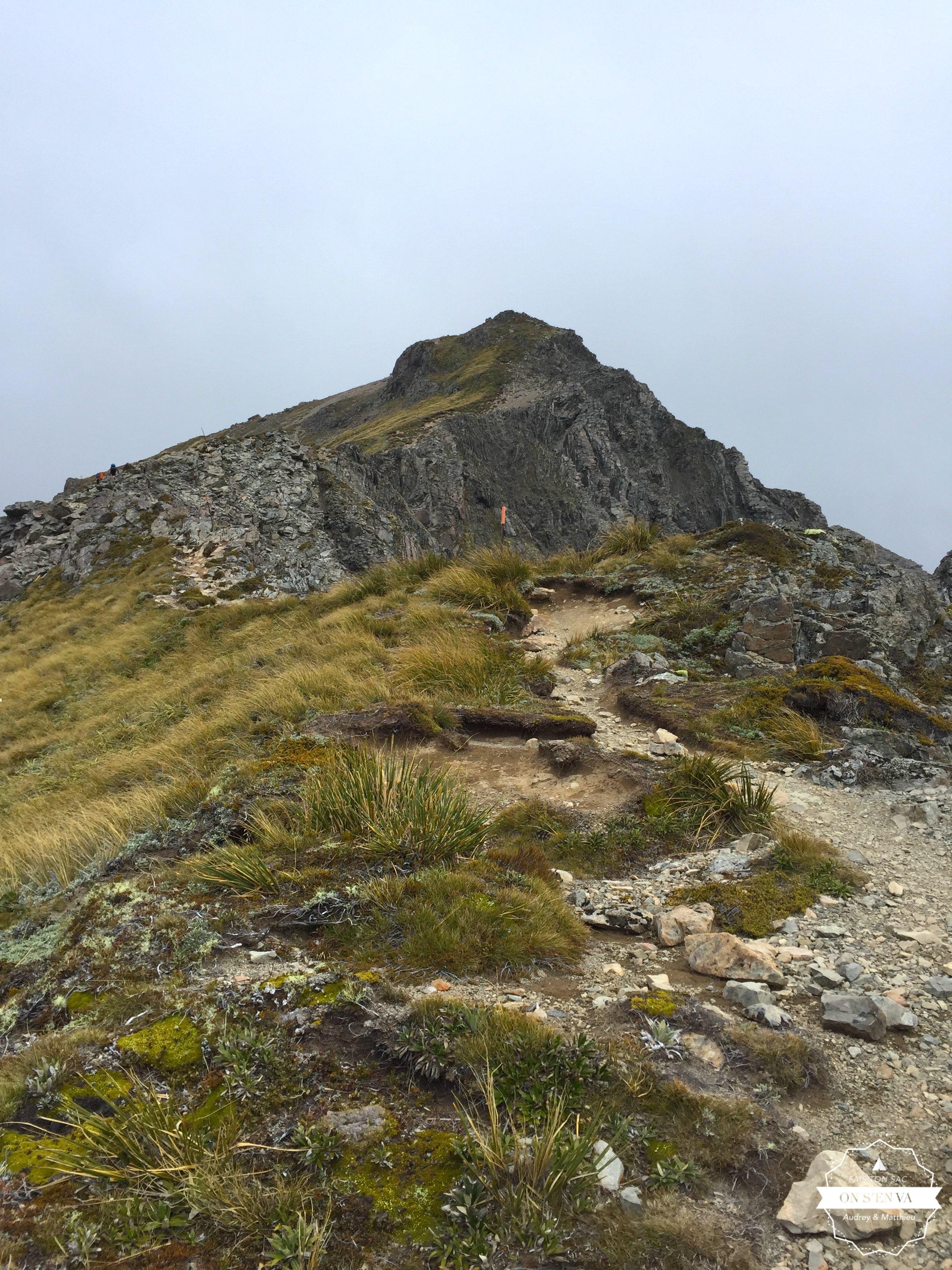 Avalanche Peak n'est plus très loin.