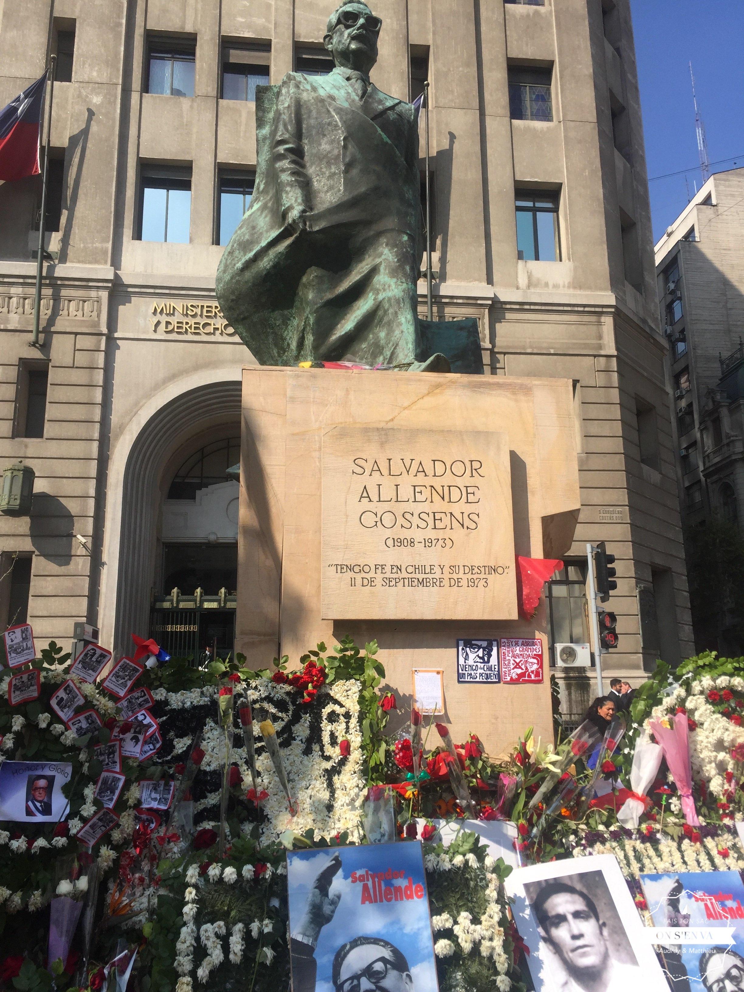 Fleurs en souvenir du 11 Septembre