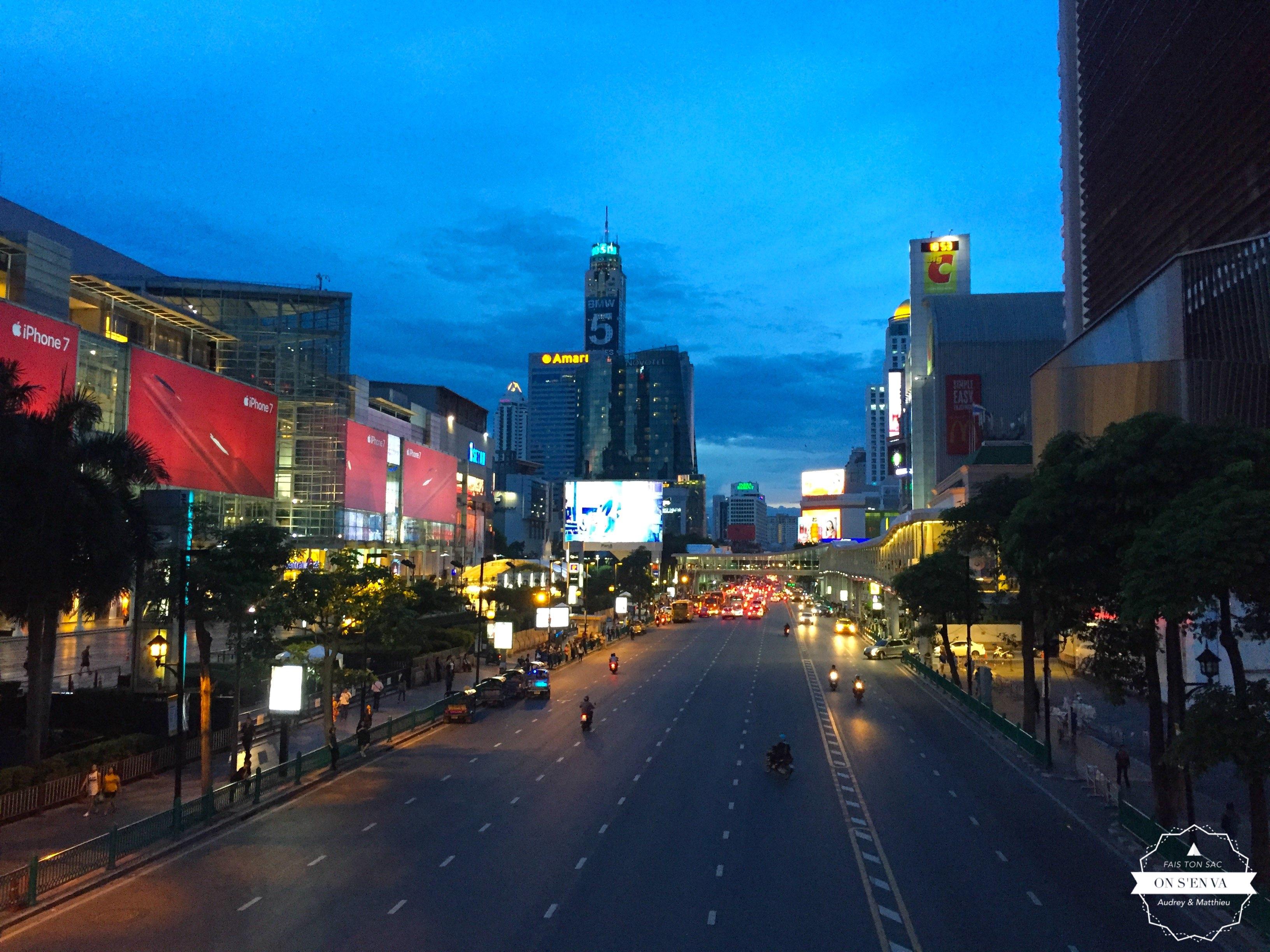 Première impression de Bangkok...