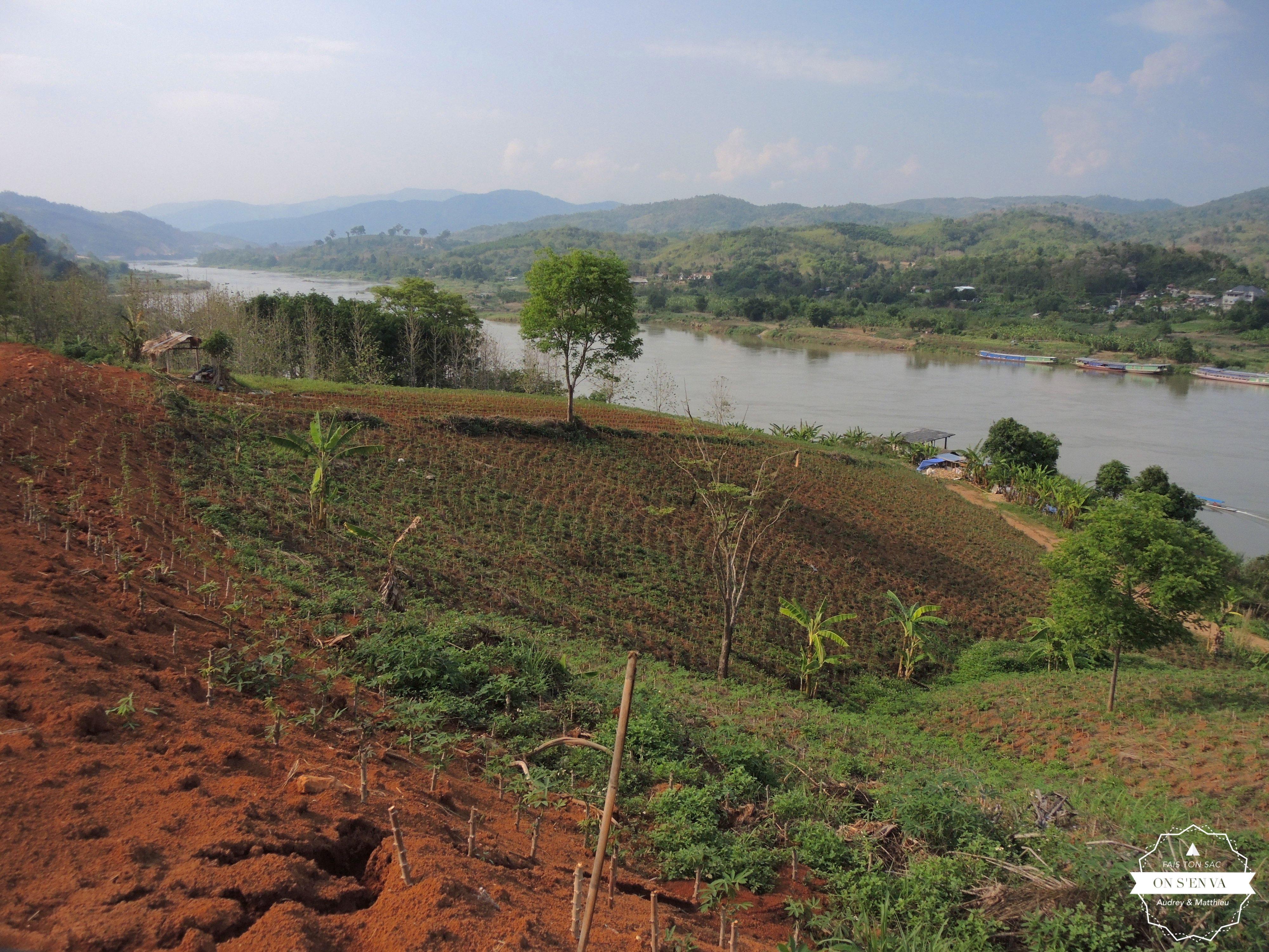 A l'approche de Chiang Khong