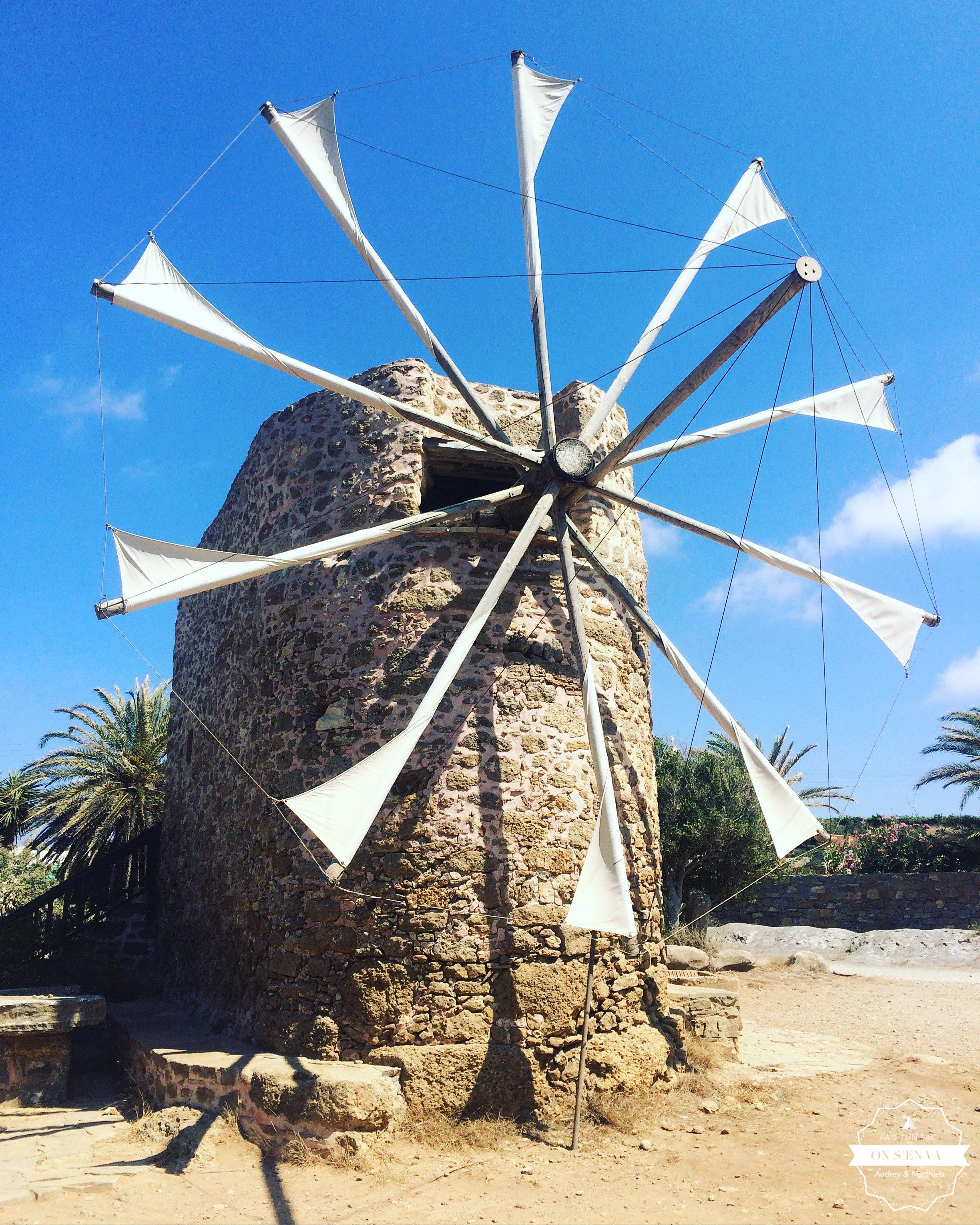 Le moulin de Moni Toplou