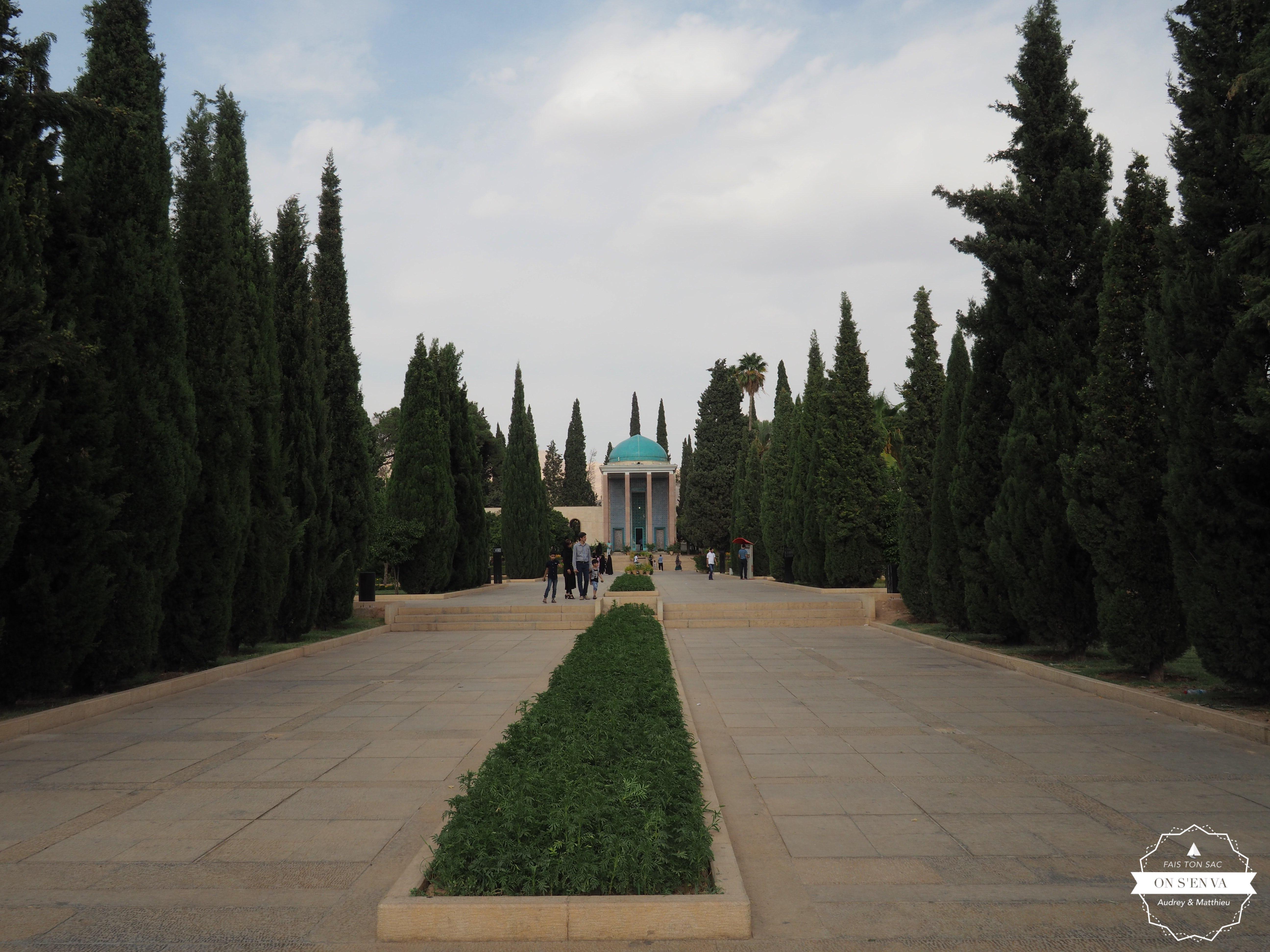 Le mausolée de Saadi