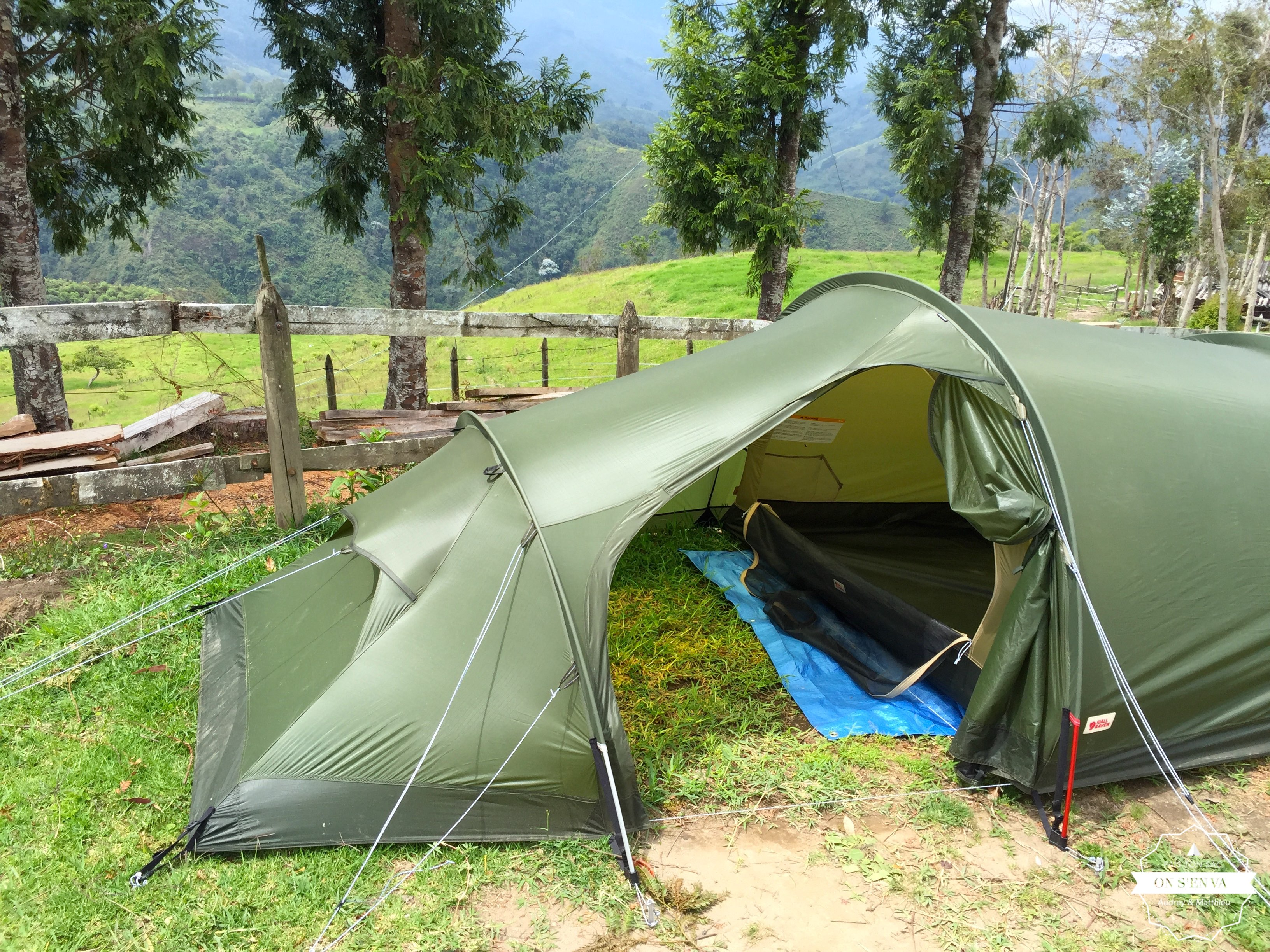 Camping luxe!