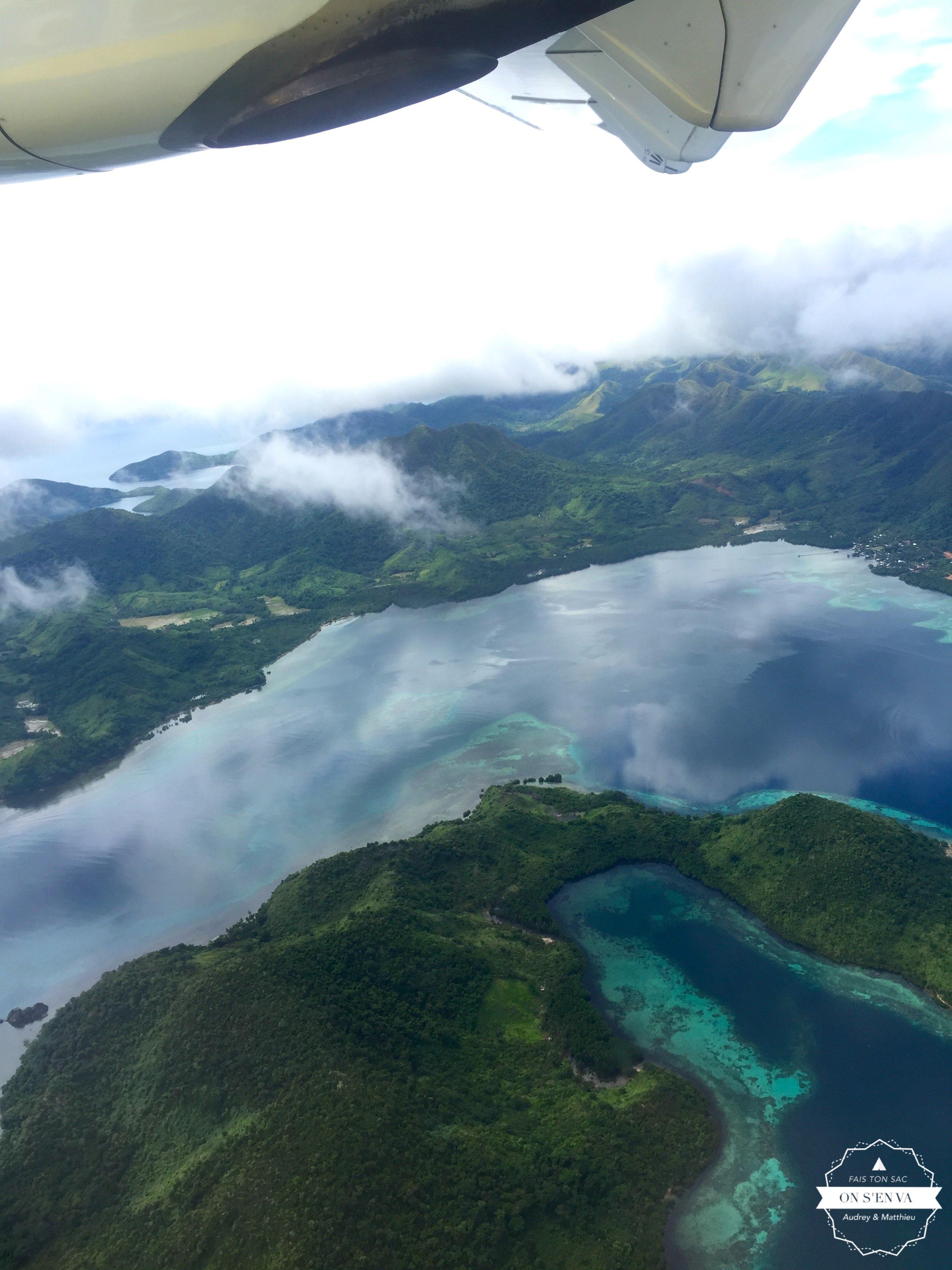 Dernière vue des îles....