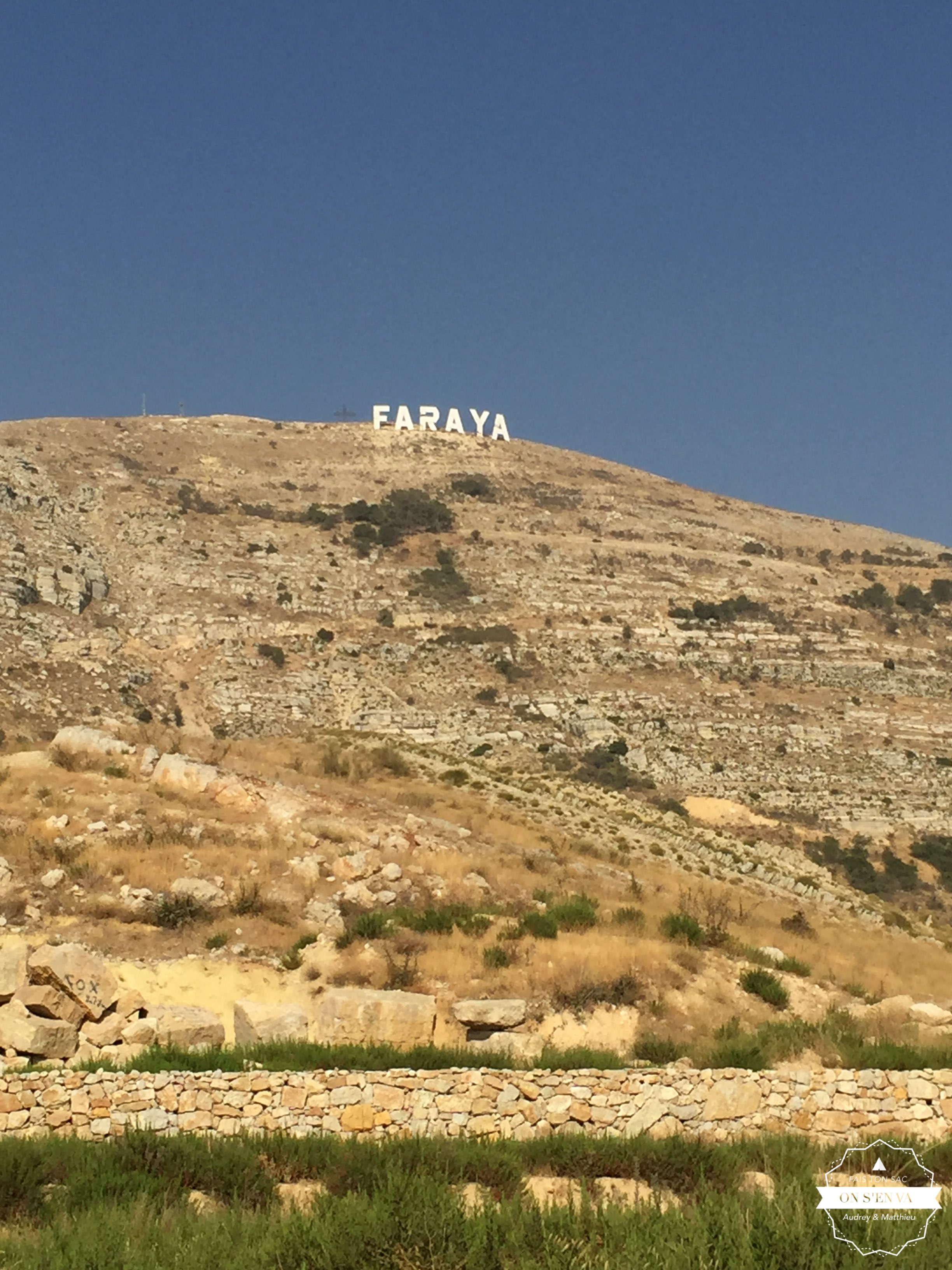 Samedi, arrivée à Faraya