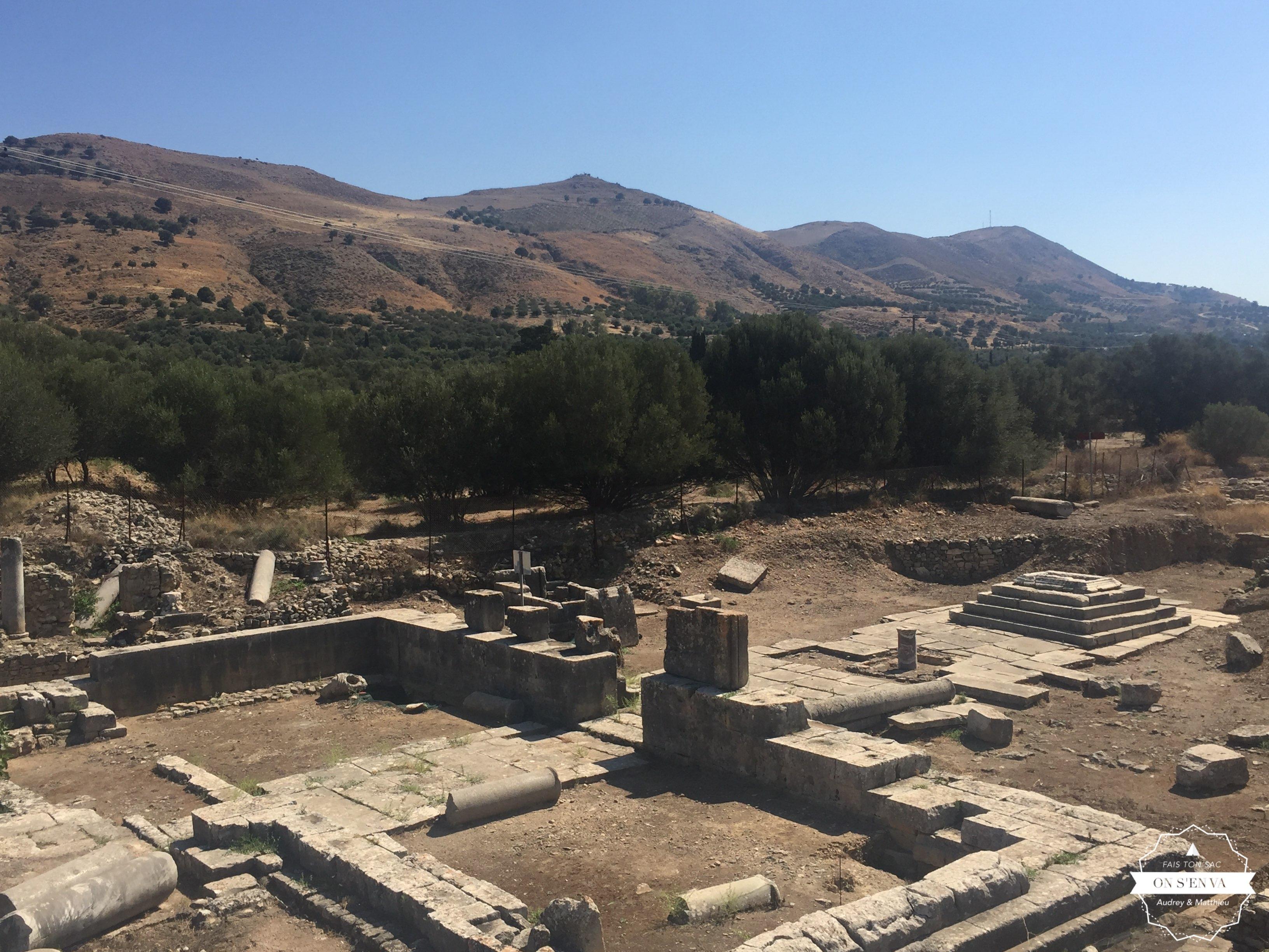 Ruines romaines, Gortis