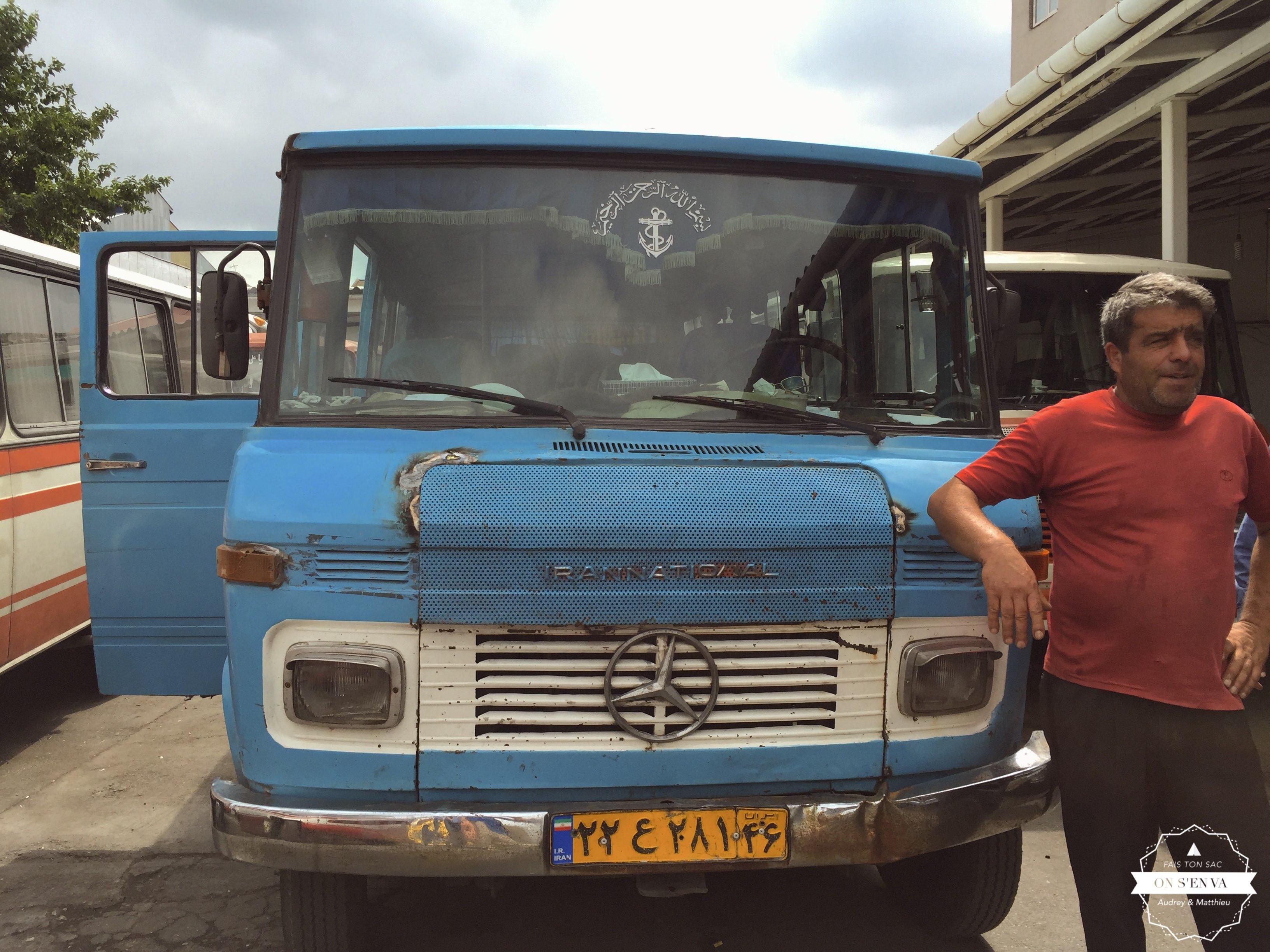 Notre bus pour Ramsar