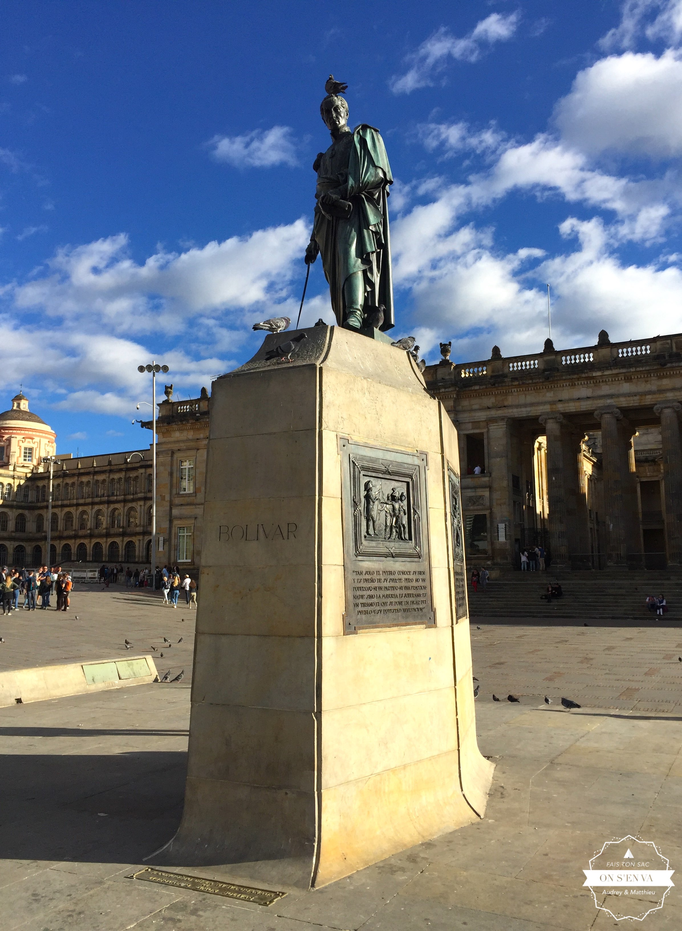 Statue de Bolivar