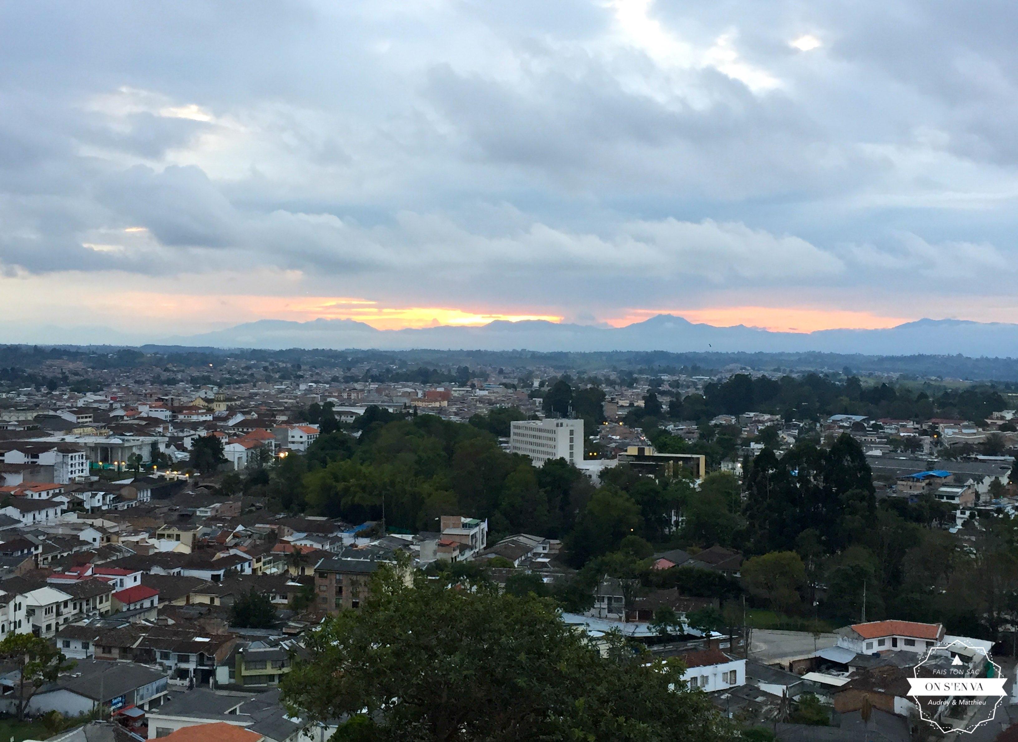 Vue de Popayan