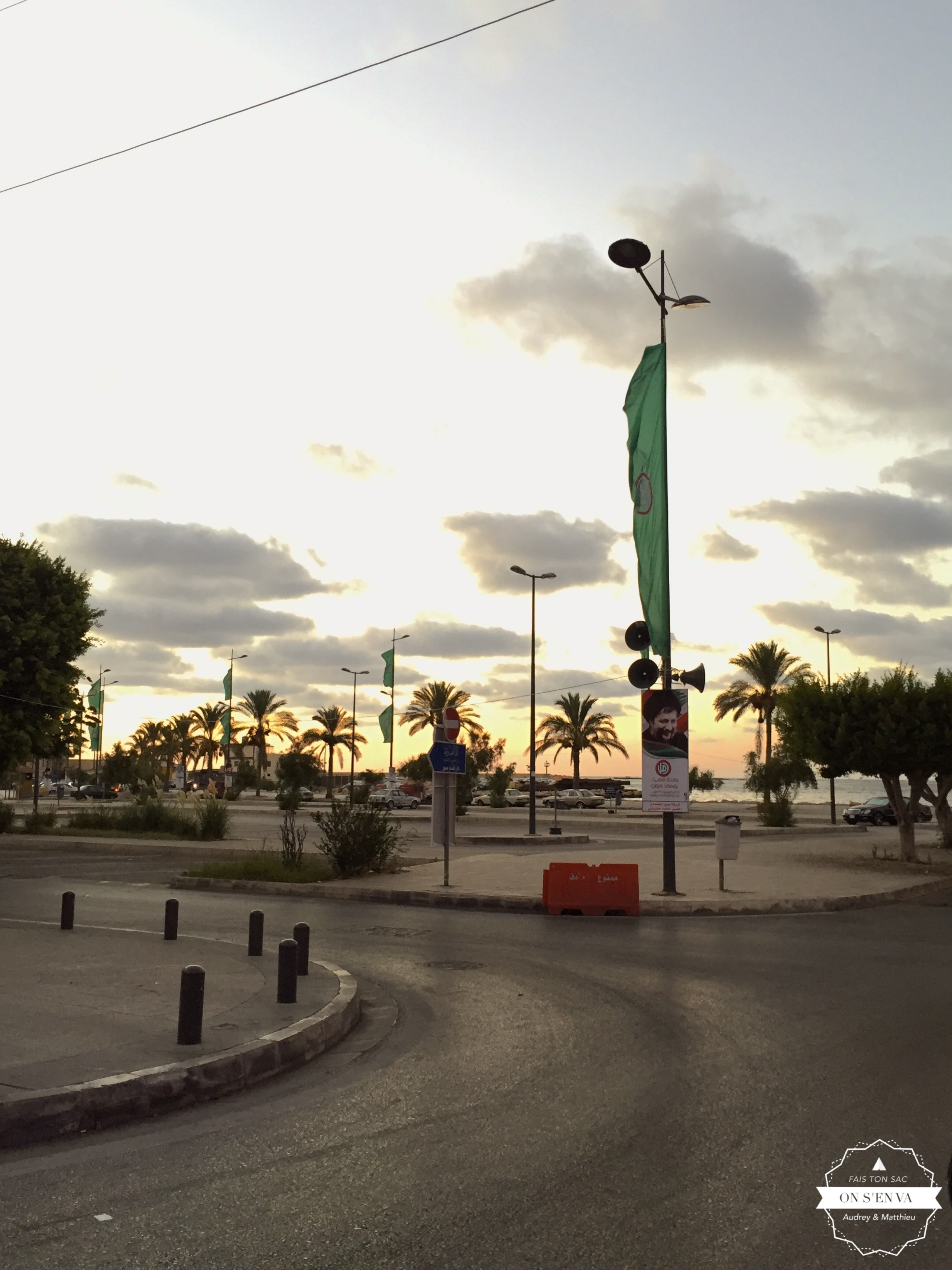 Le front de mer à Sour