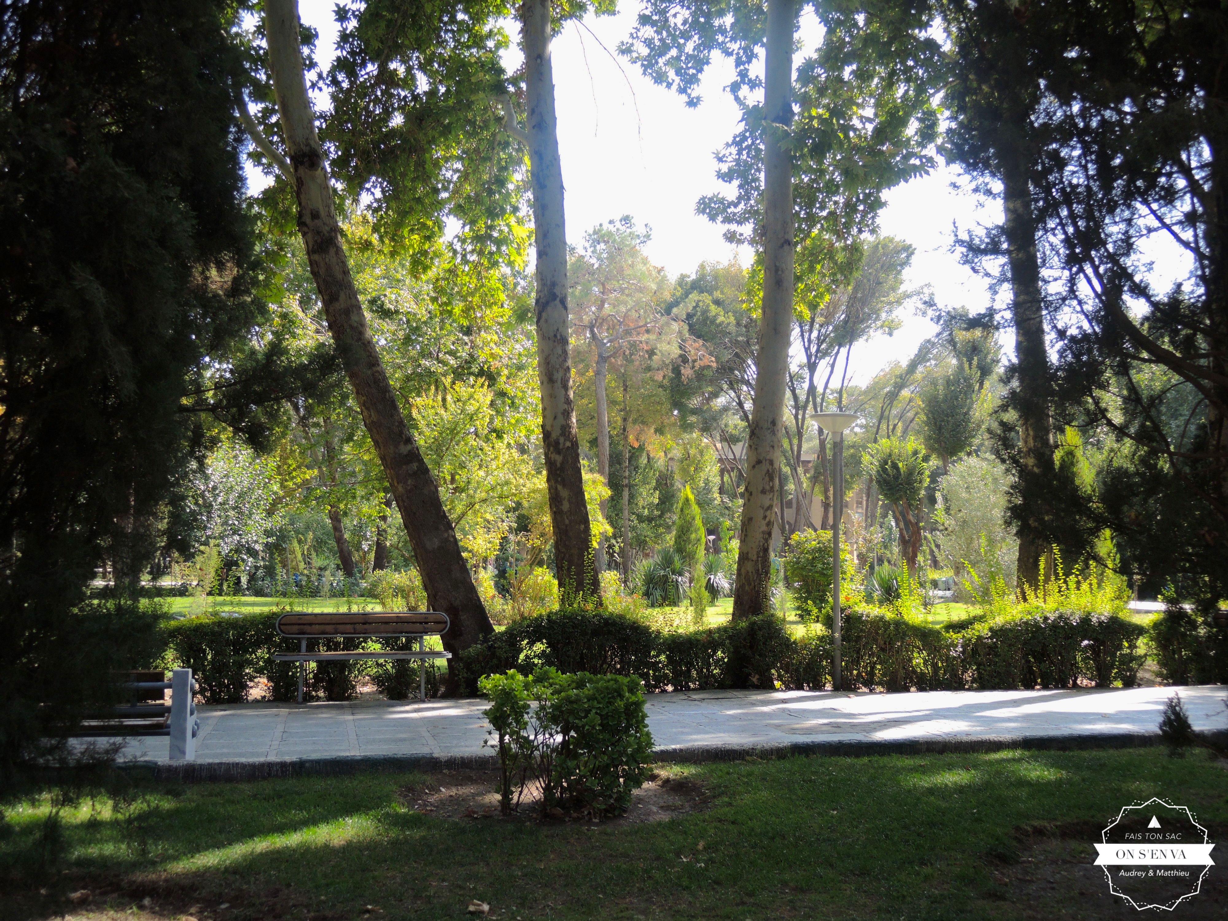 Jardin d'Isfahan