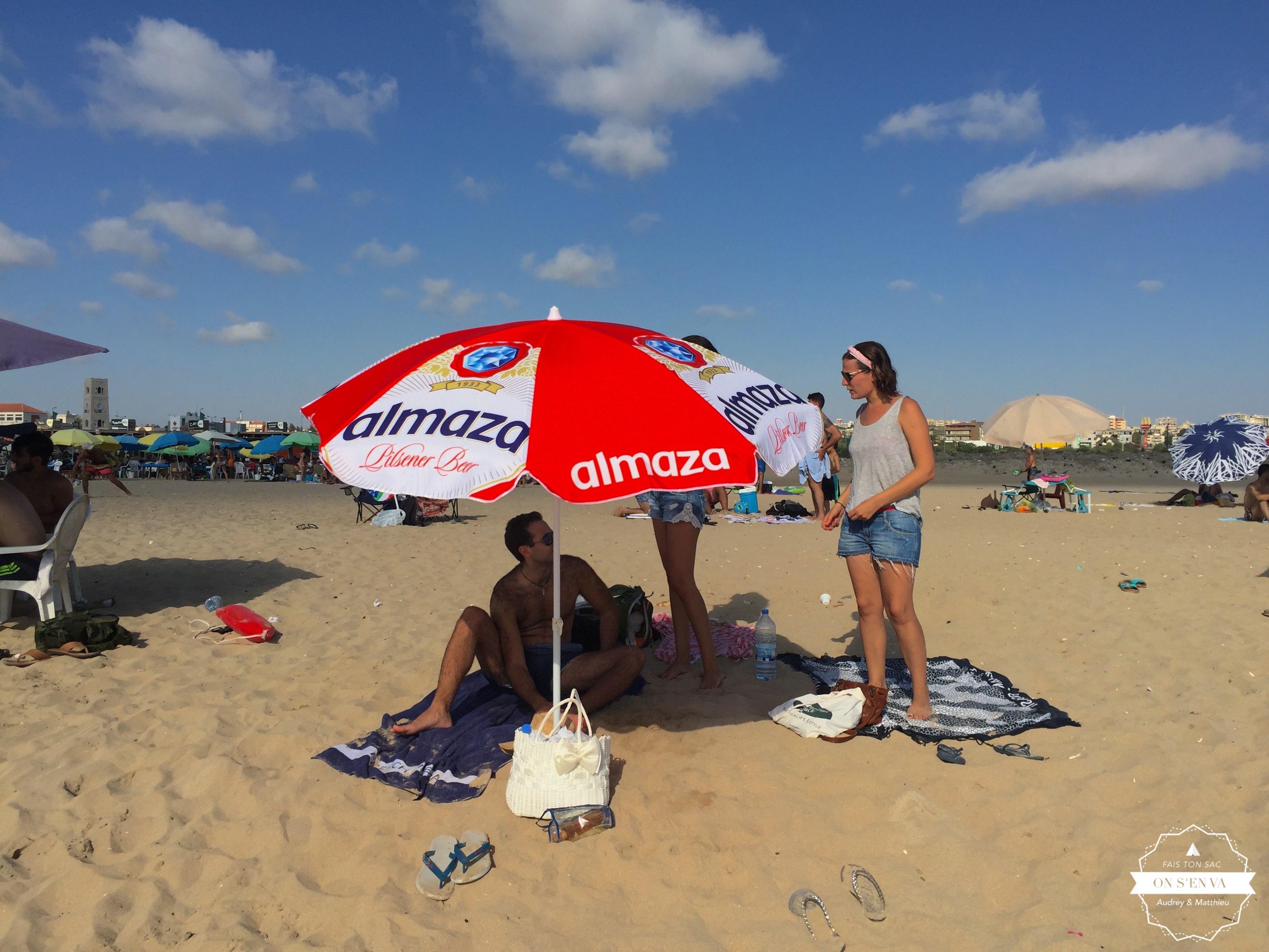 """Le parasol """"bière locale"""""""