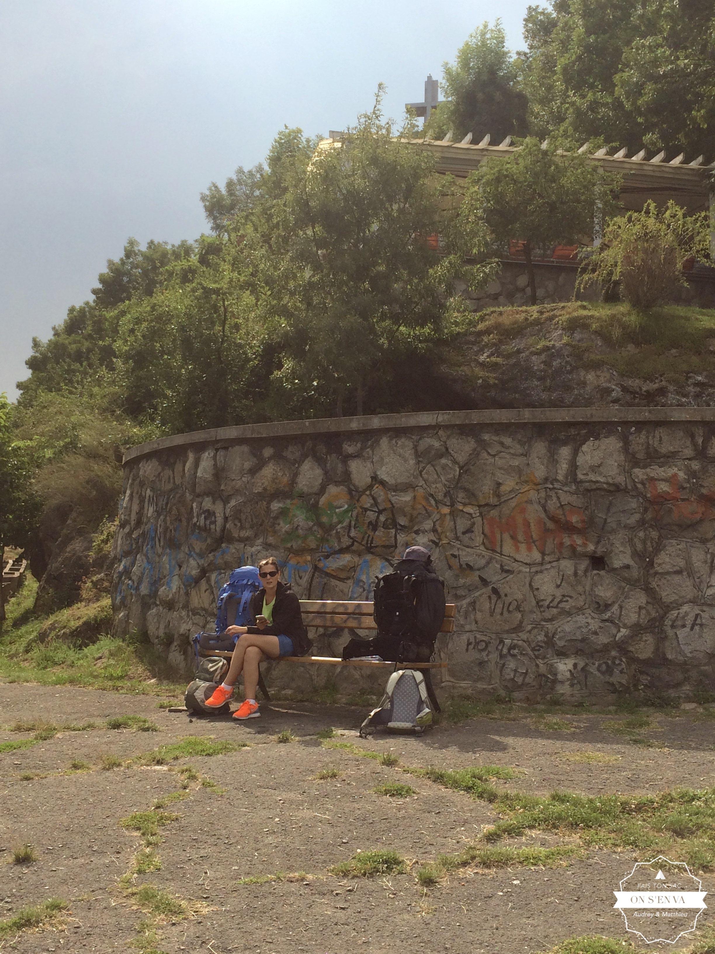 Arrivée sur les hauteurs de Cluj