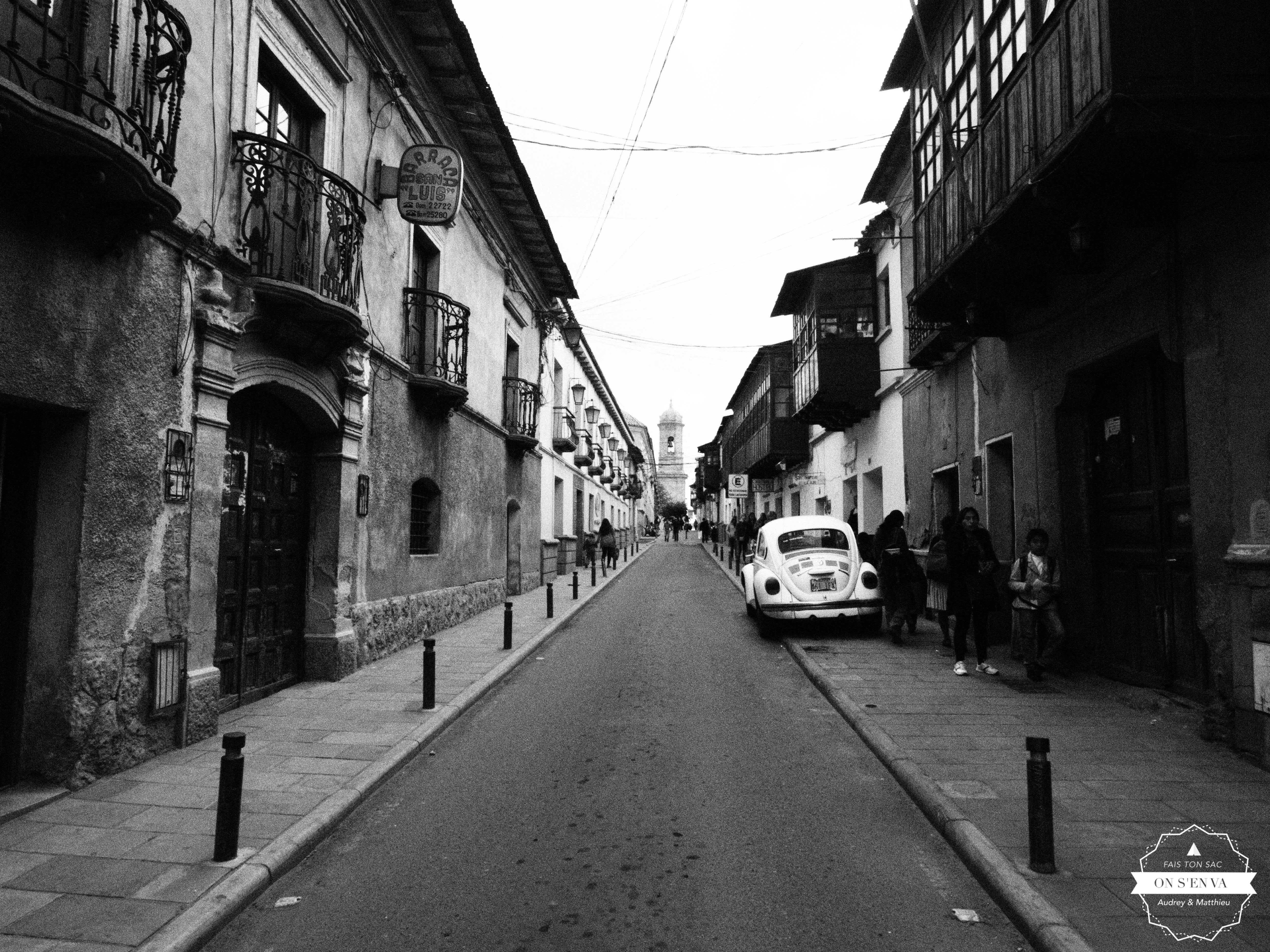 Balade dans les rues de Potosi...