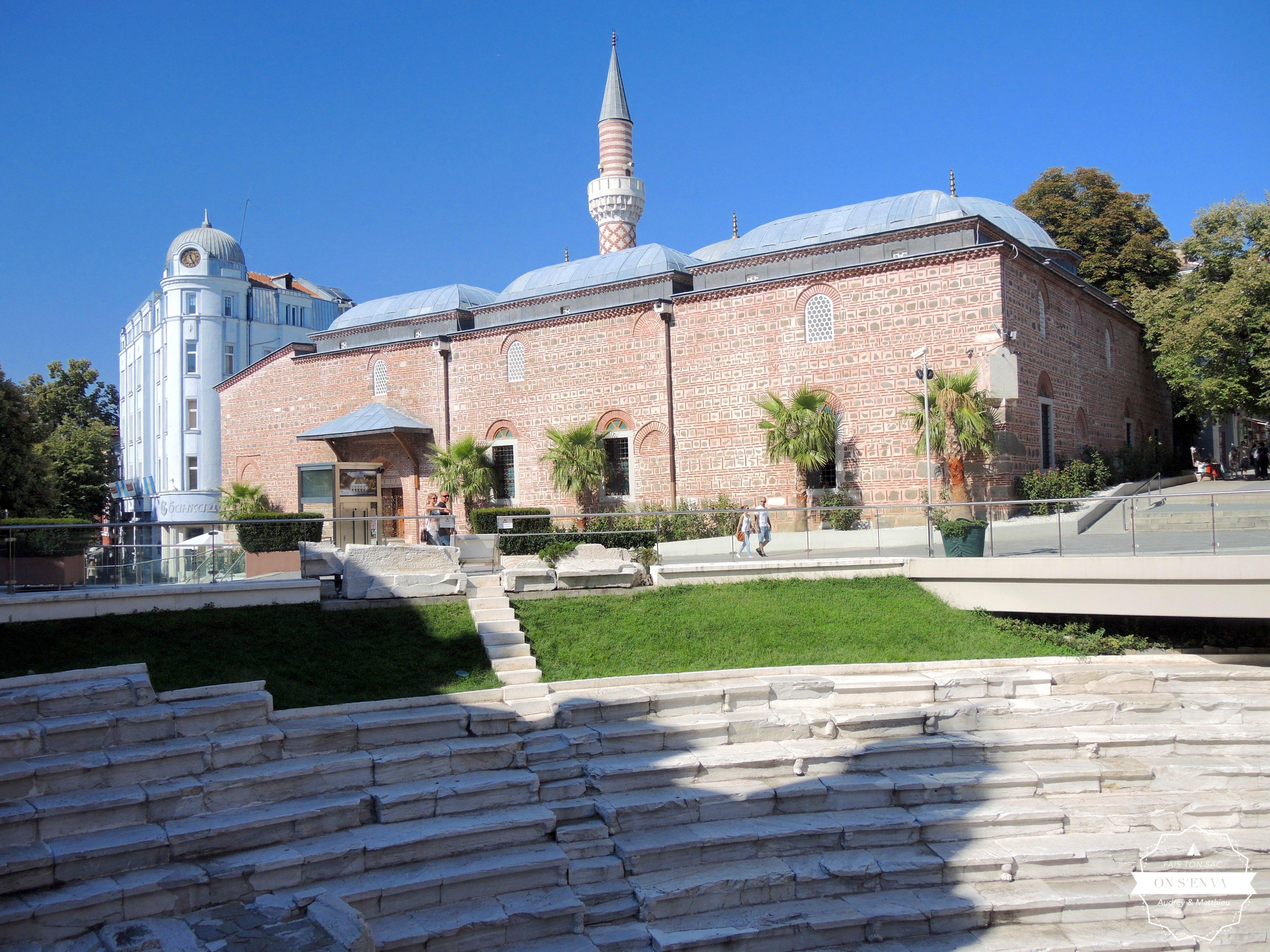 Le Stade romain et la Mosquée