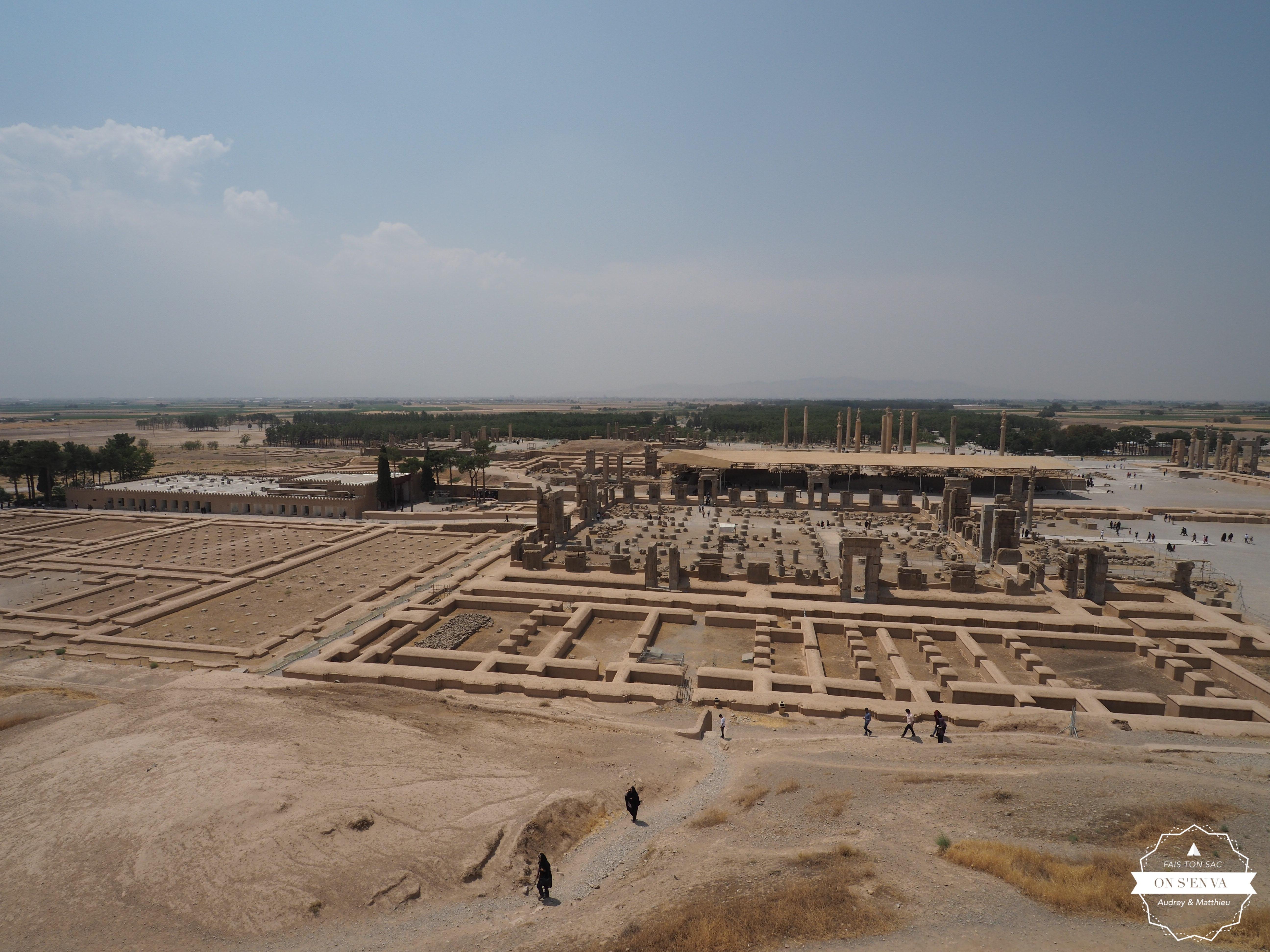Vue de Persepolis