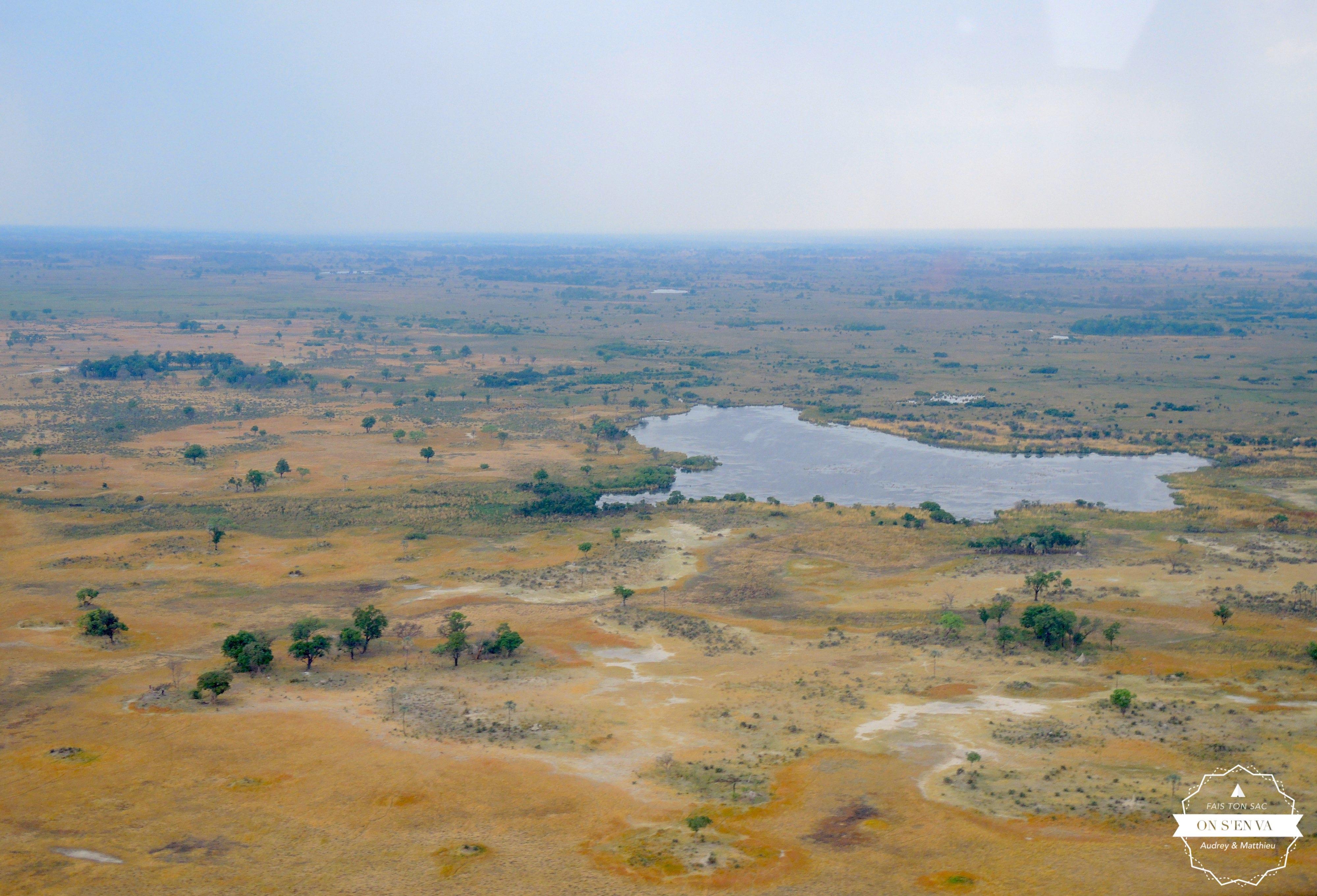 Carte (naturelle) de l'Afrique