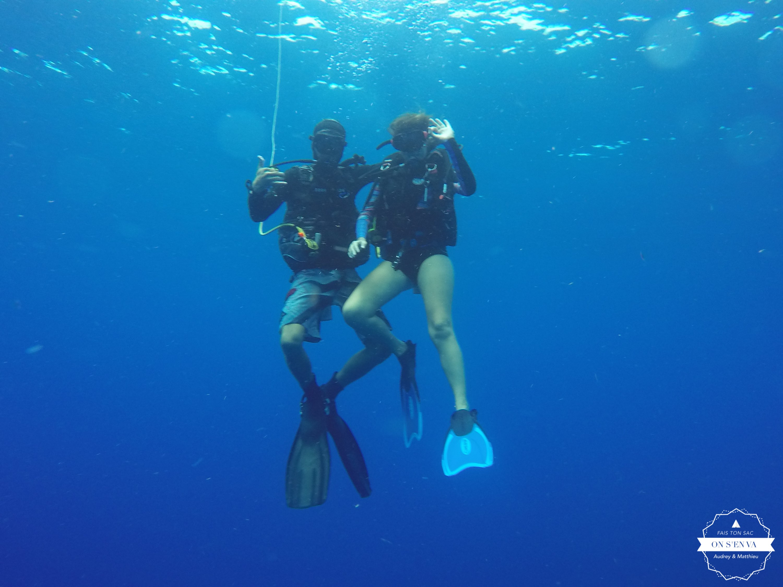 Et plongée avec Nico...