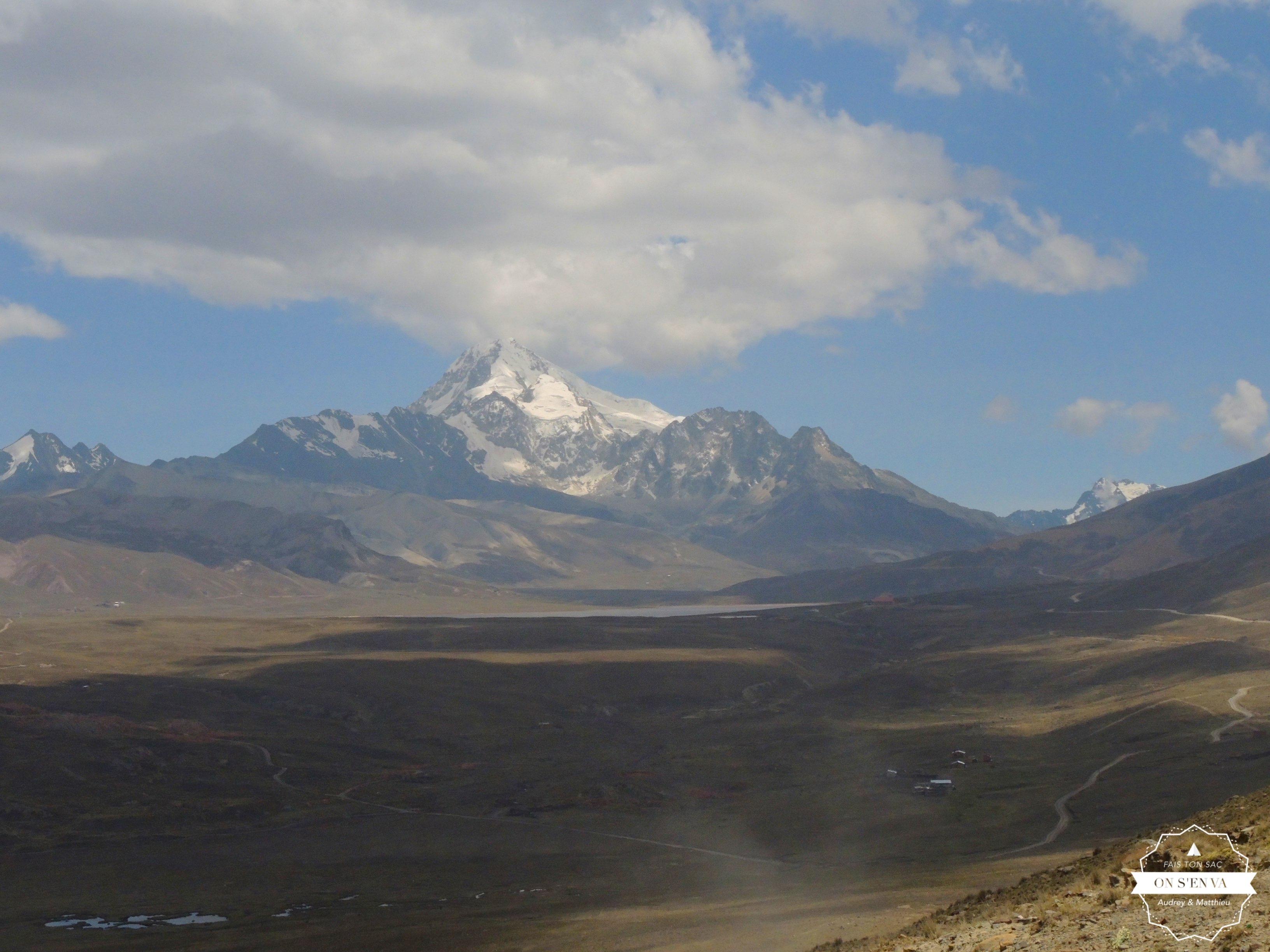 Direction le Huayna Potosi